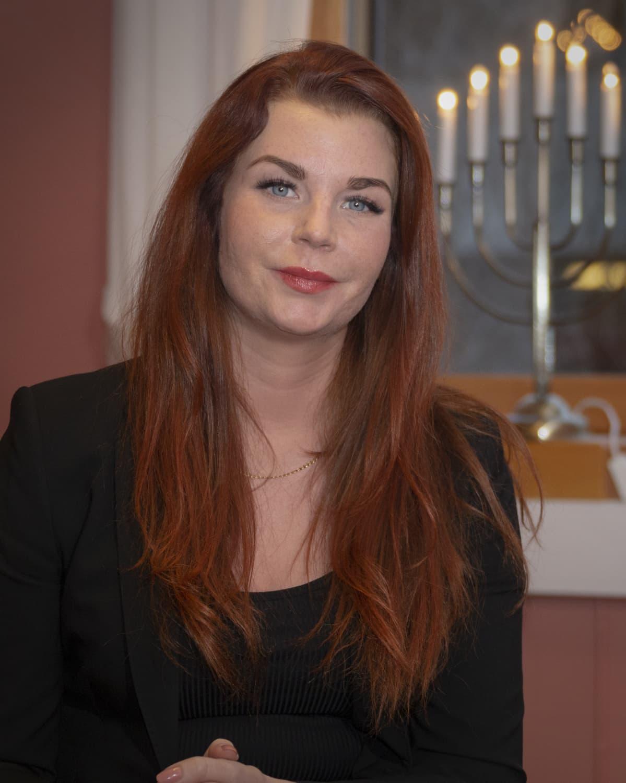 Sölvesborgin kunnanneuvos ja kunnanhallituksen puheenjohtaja Louise Erixon, ruotsidemokraatit