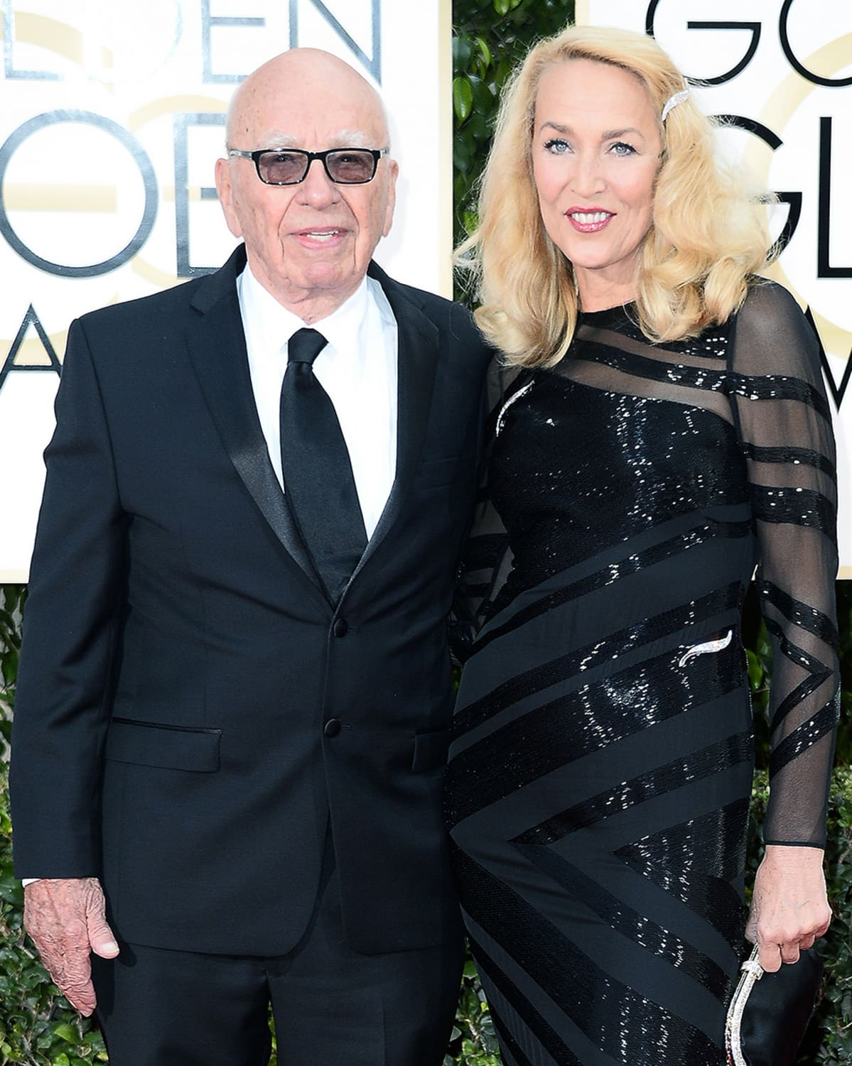 Rupert Murdoch ja Jerry Hall