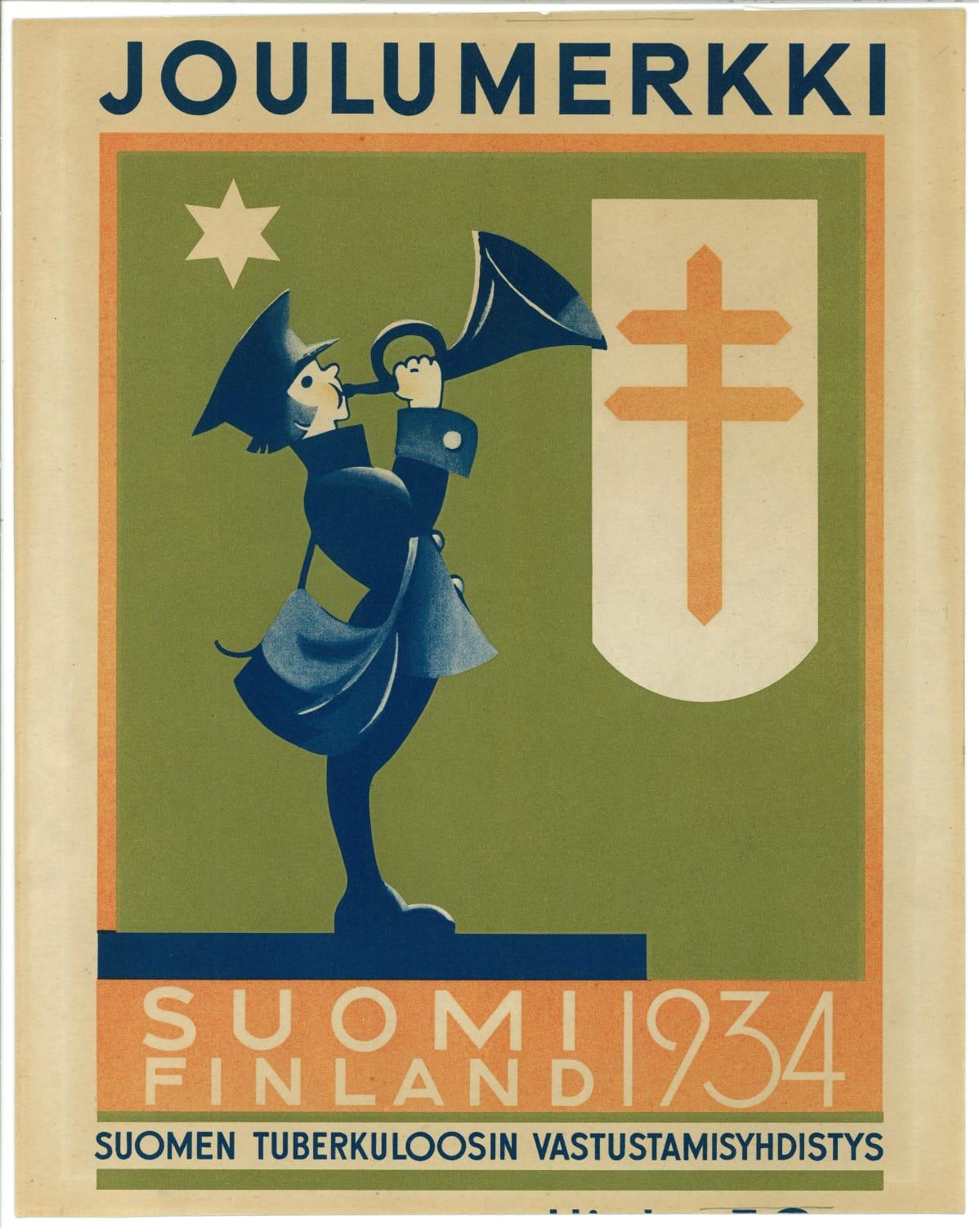 Joulumerkki 1934