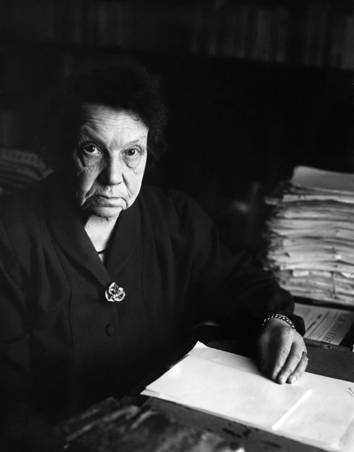 Kirjailija L. Onerva 1950-luvulla