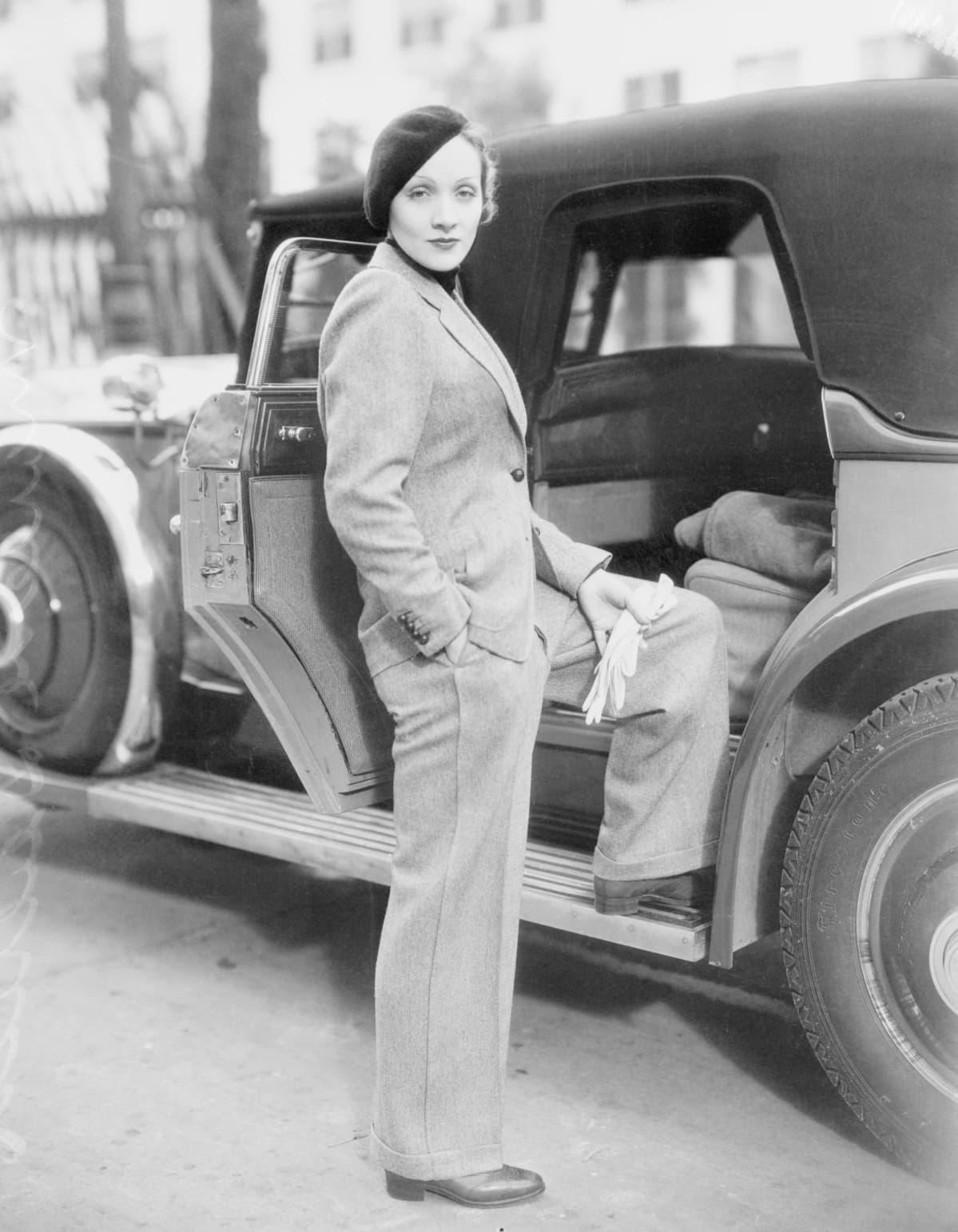 Marlene Dietrich v. 1933.