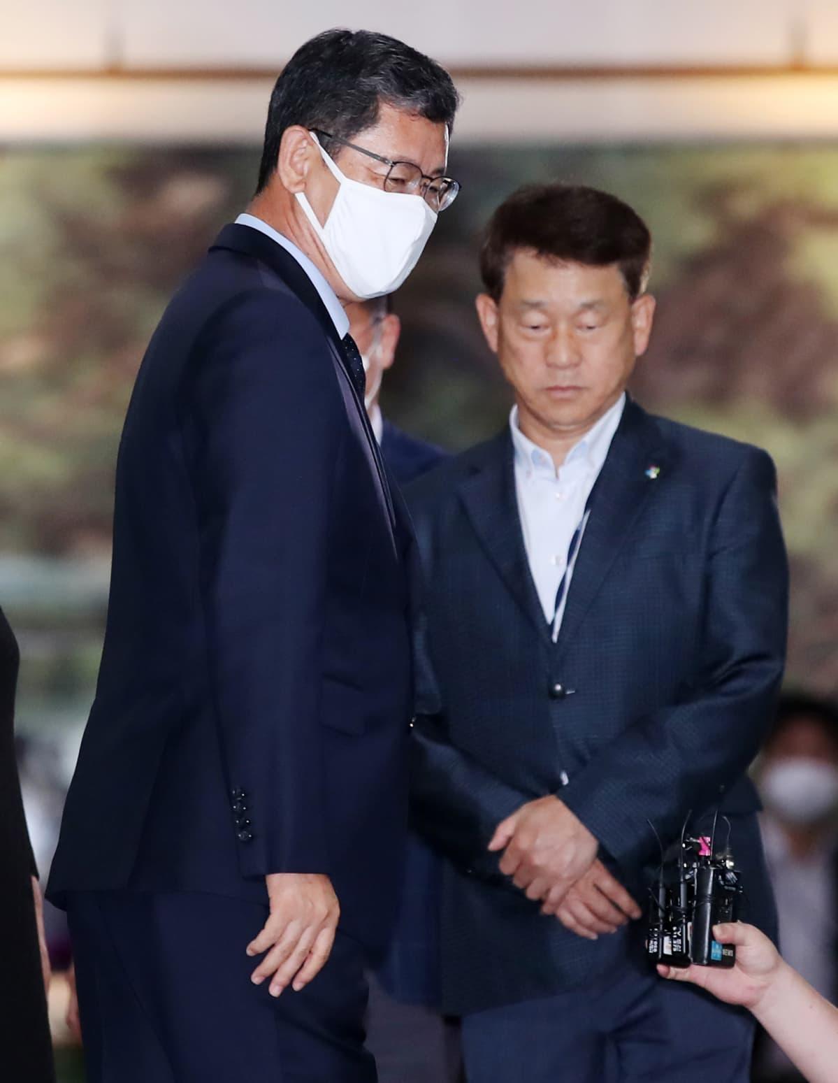 Kuvassa on Kim Yeon-chul.