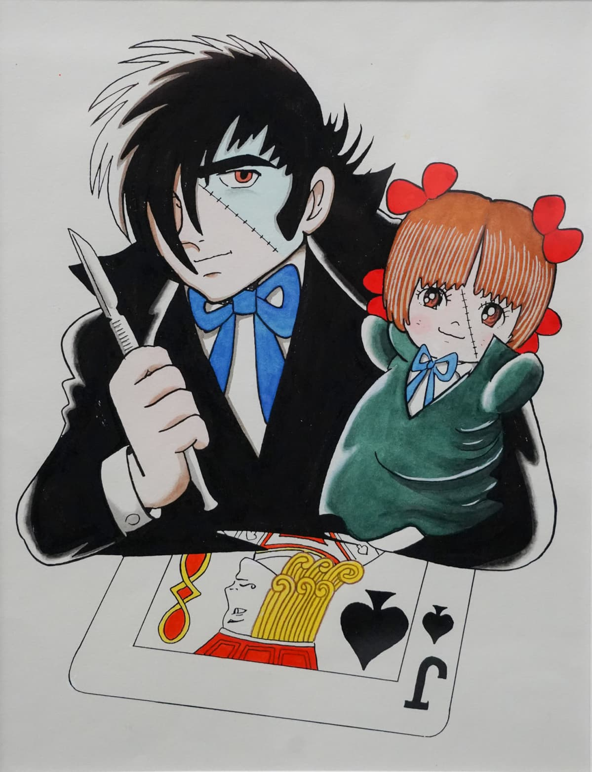 Black Jack, Osamu Tezuka, Tampereen taidemuseo, manga