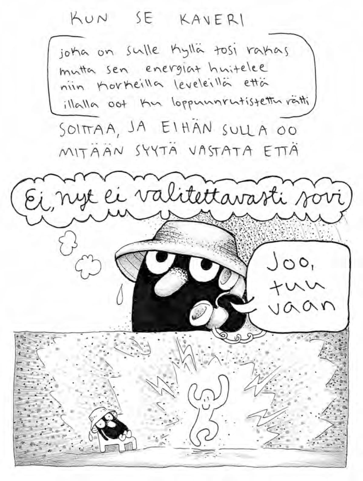 Petra Tannisen Erityisen herkkää elämää -sarjakuvakirja