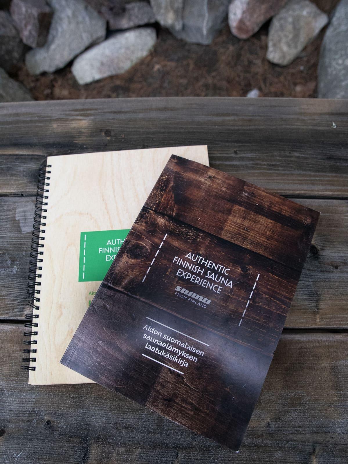 Sauna From Finland julkaisee uuden version Suomalaisen saunan laatukäsikirjasta.