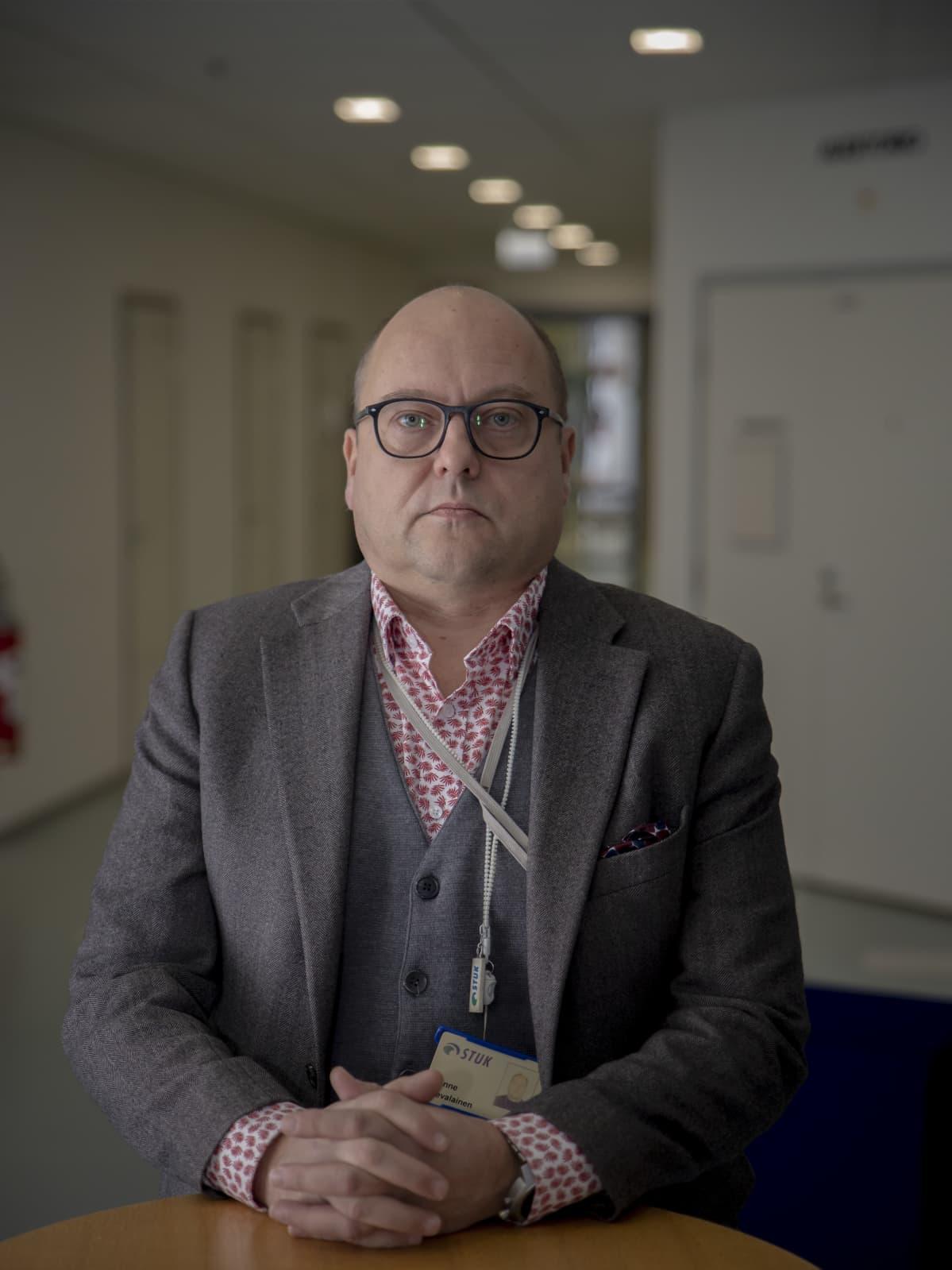 Janne Nevalainen projektipäällikkö, Säteilyturvakeskus