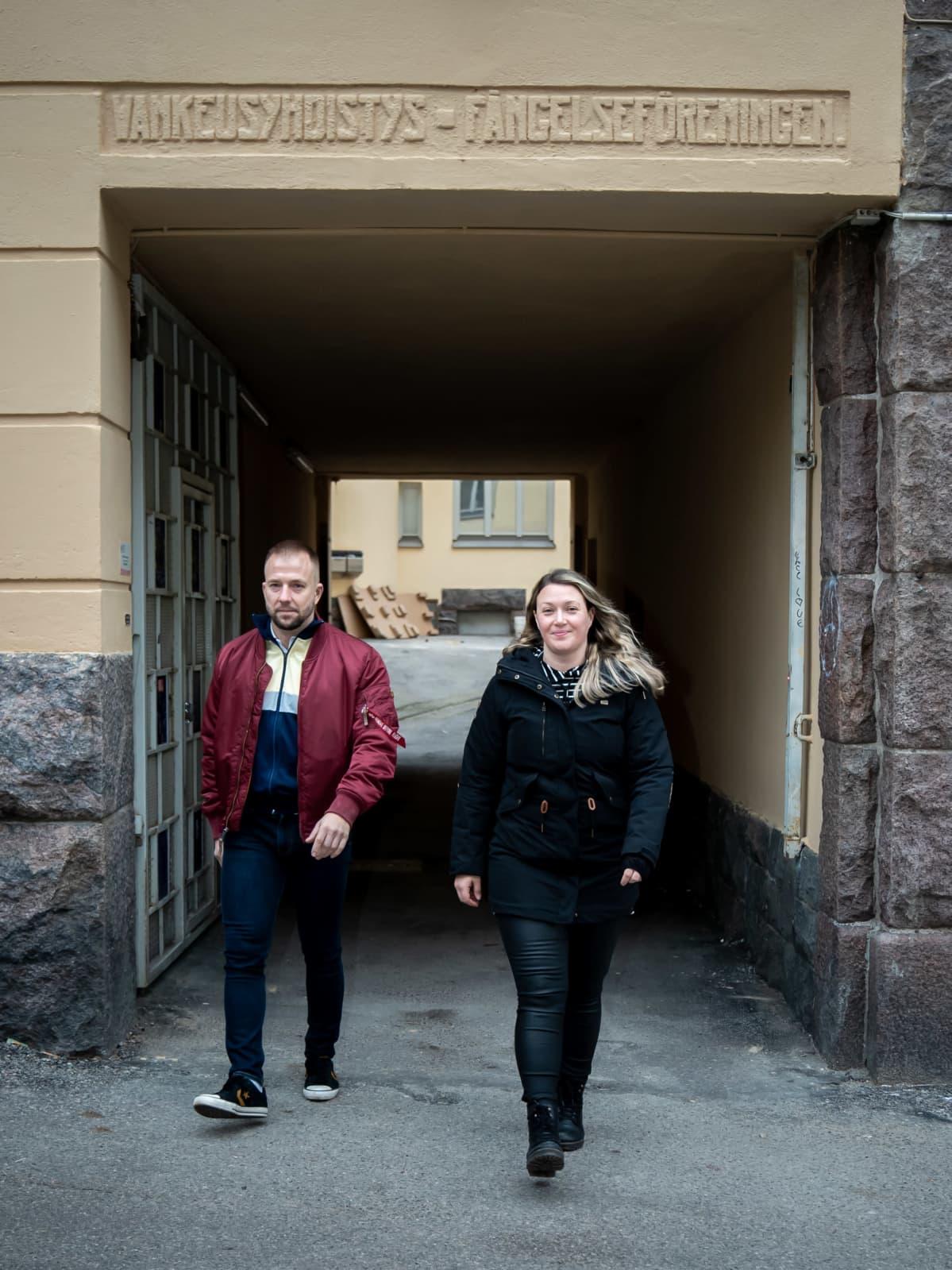 Charlotte Petterson-Fernholm Projektityötekijä ja Juha Kaski
