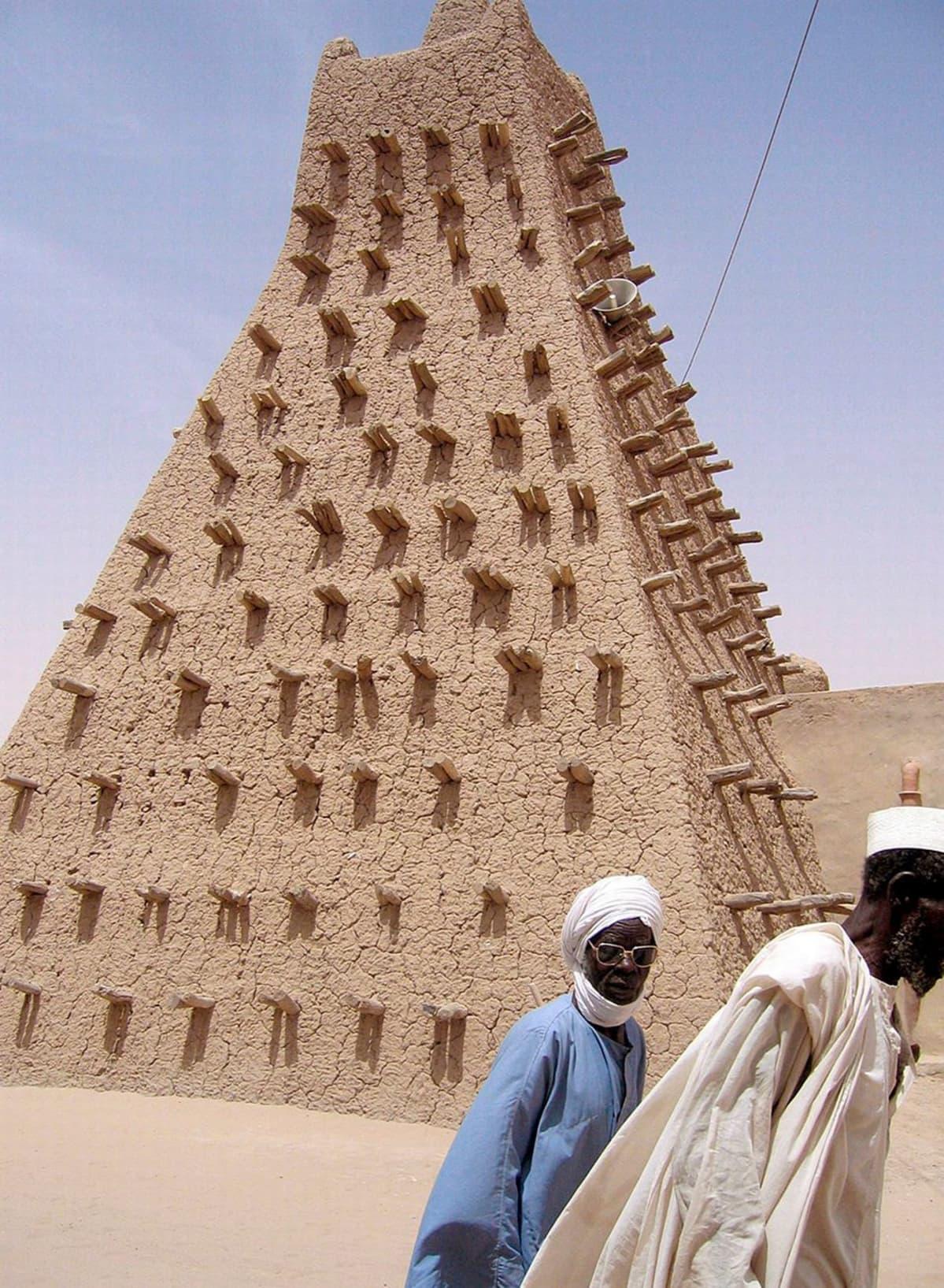 Savimoskeija Timbuktussa.
