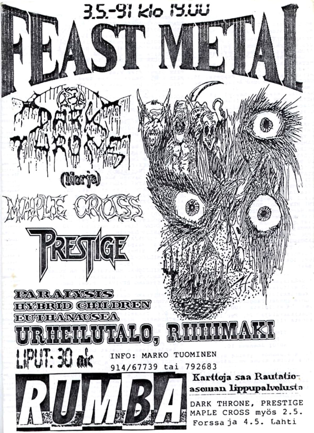 Rotting Ways to Misery, death metal