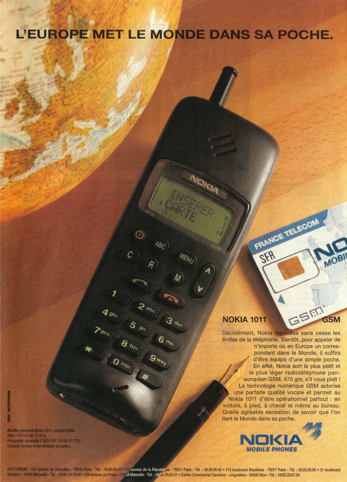 Nokia mainos Ranska
