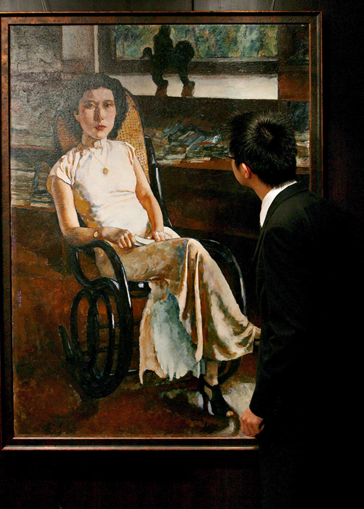 Portrait of Lady -maalaus.