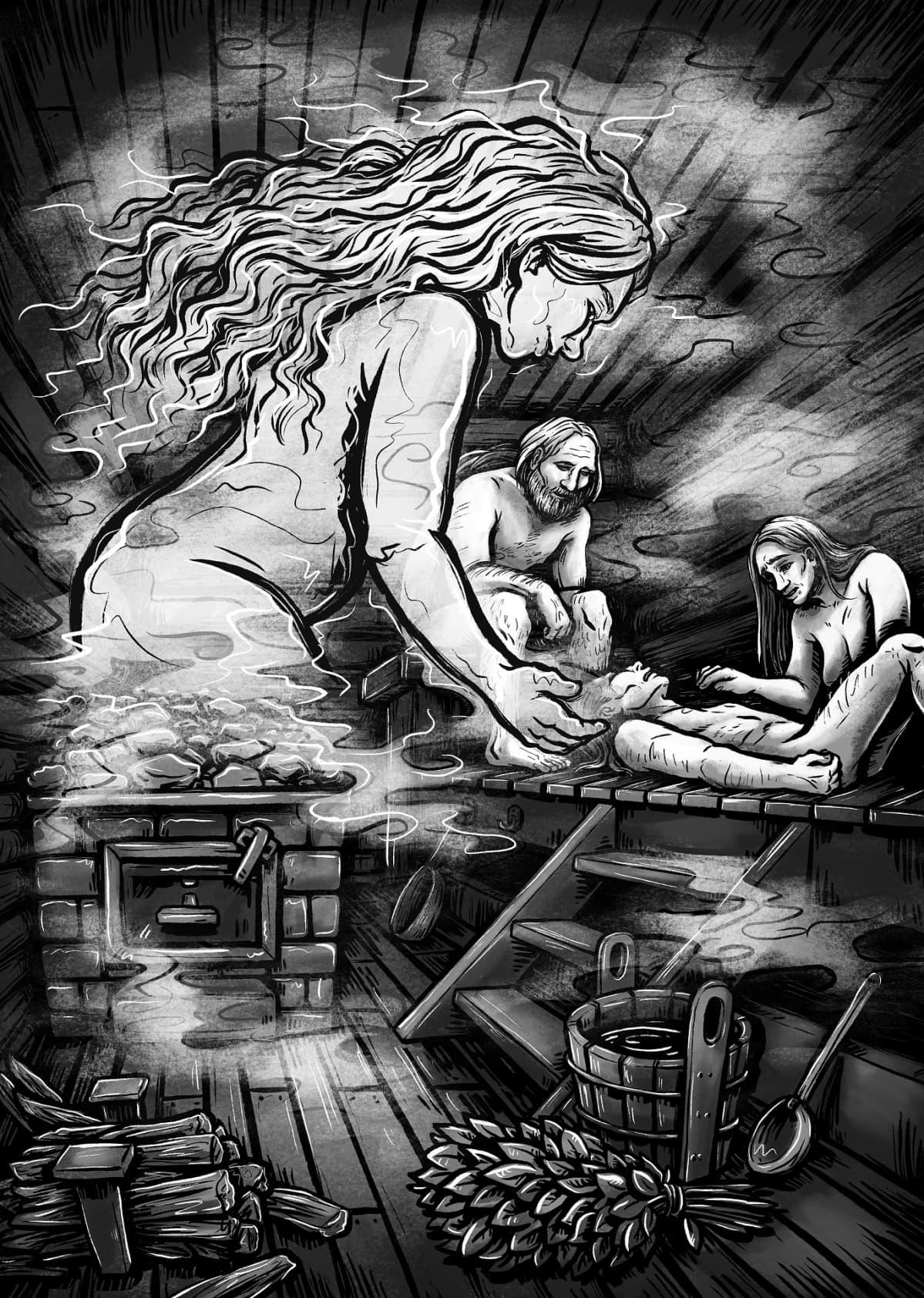 Apila Pepita, Pohjolan jumalattaret, Sanervatar