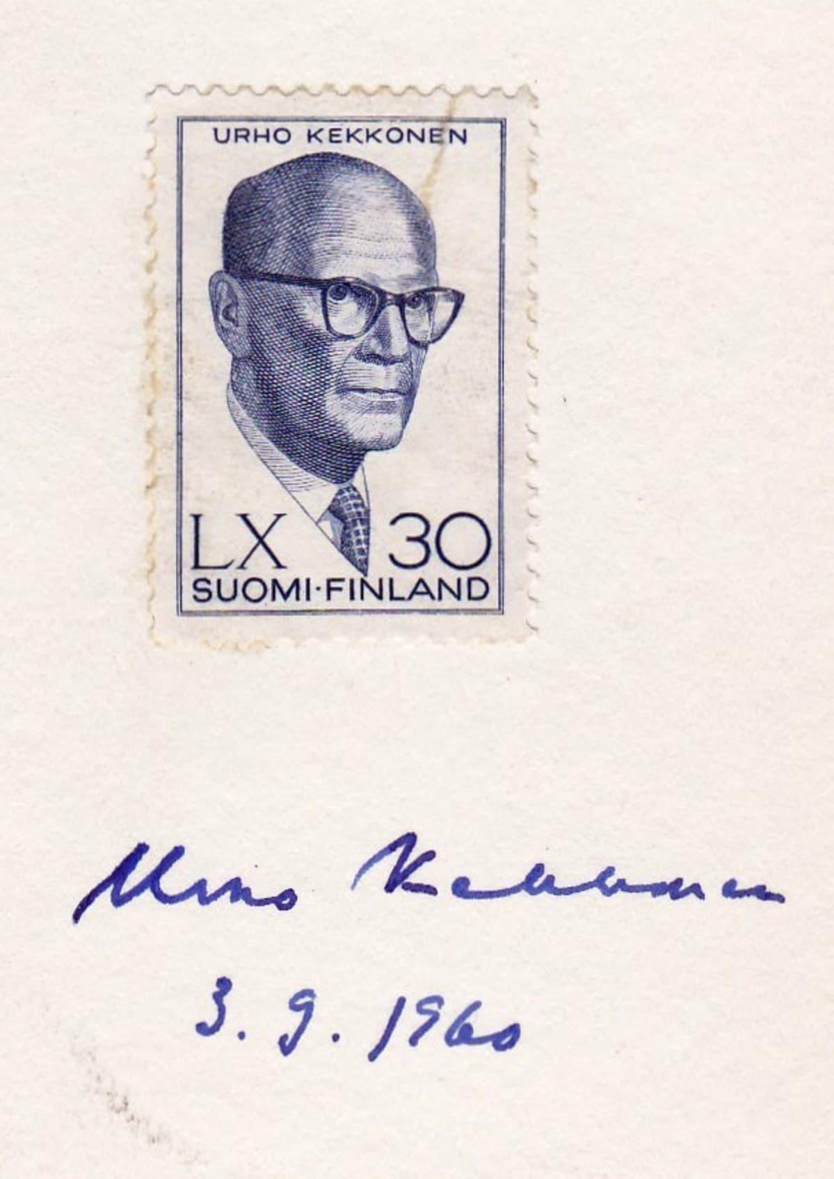 Kekkonen-postimerkki