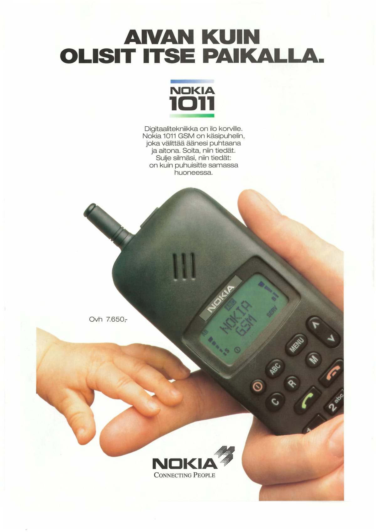 Nokia 1011 mainos