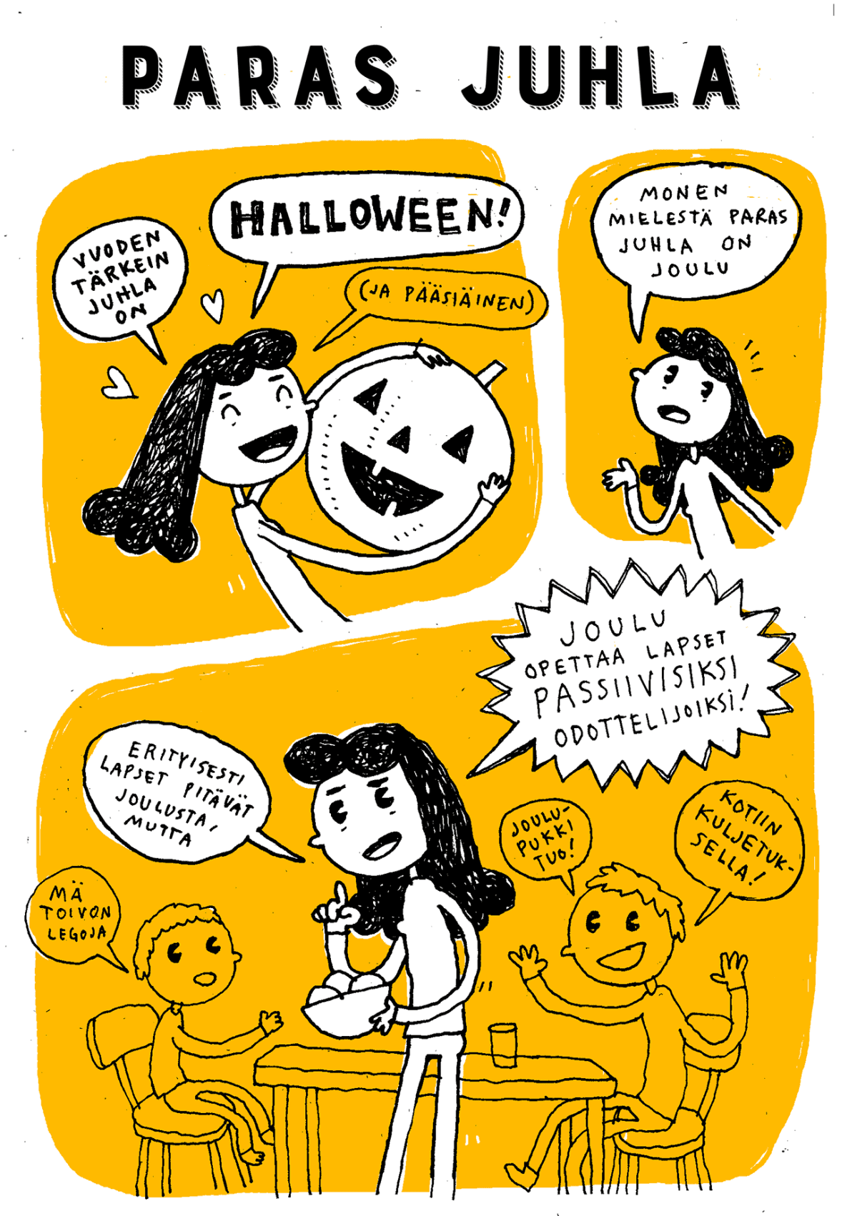 halloween-sarjakuva
