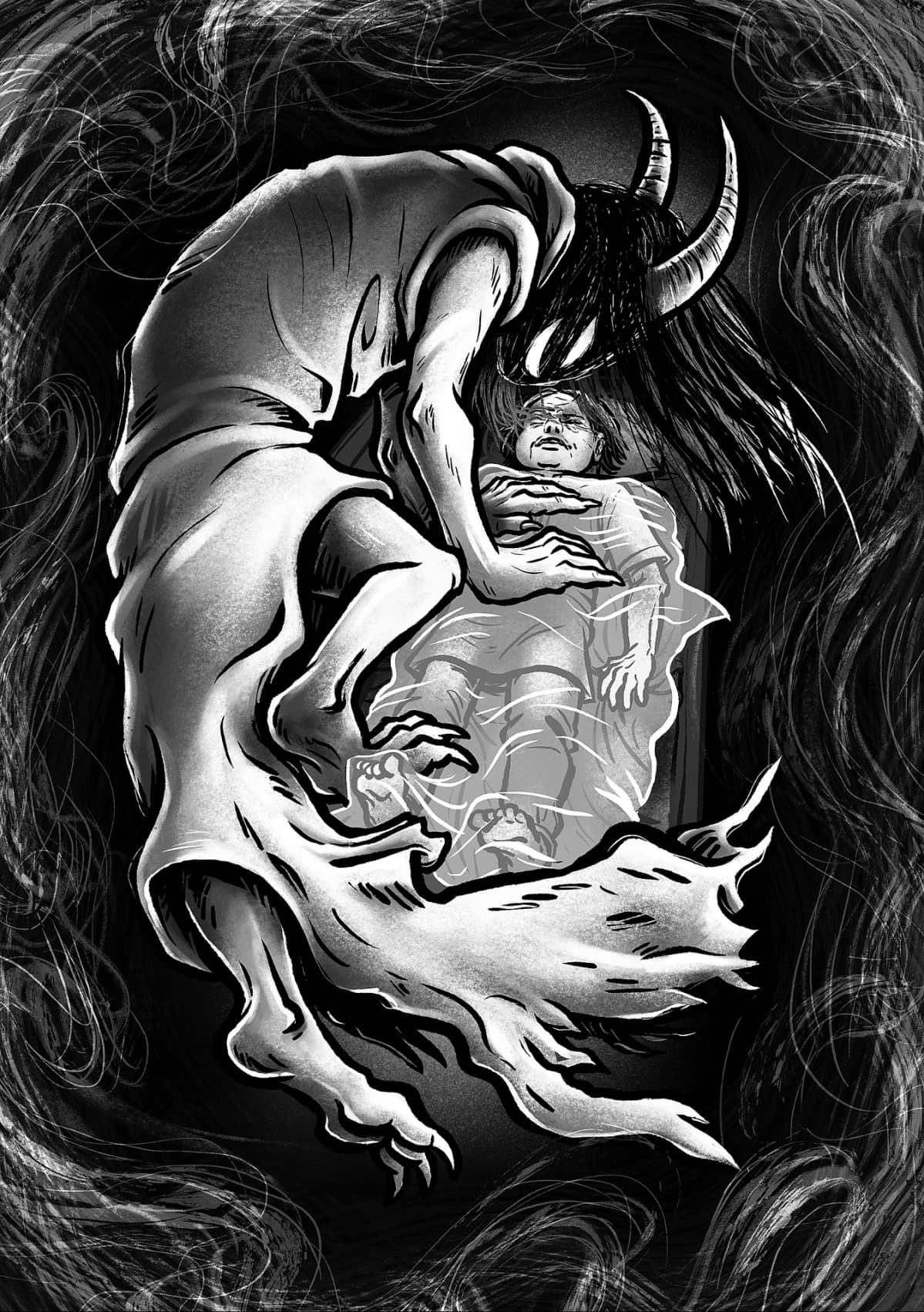 Pohjolan jumalattaret, Ajattara