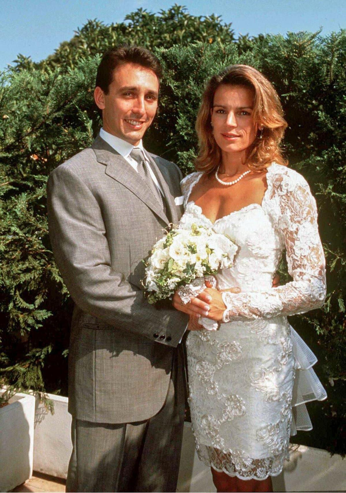 Stephanie ja Daniel .