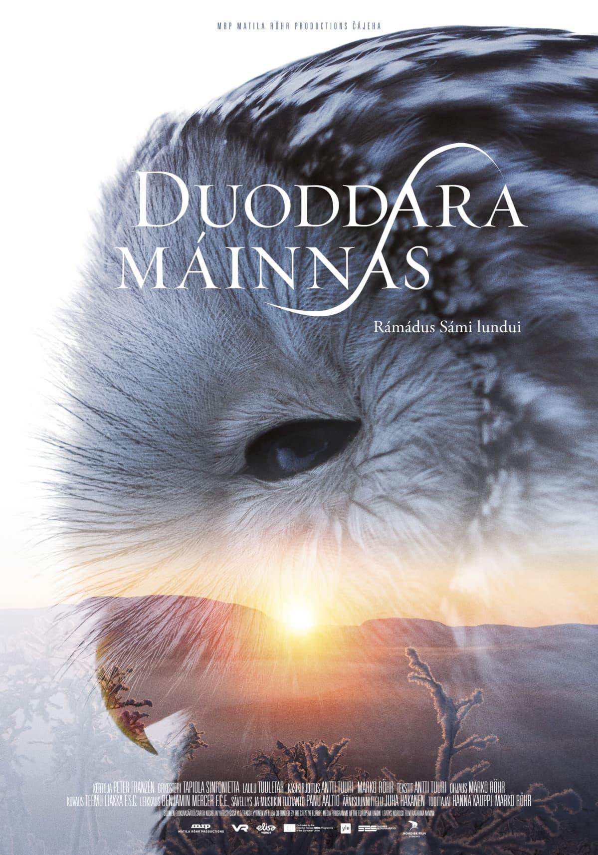 Tunturin tarina -elokuvan saamenkielinen juliste