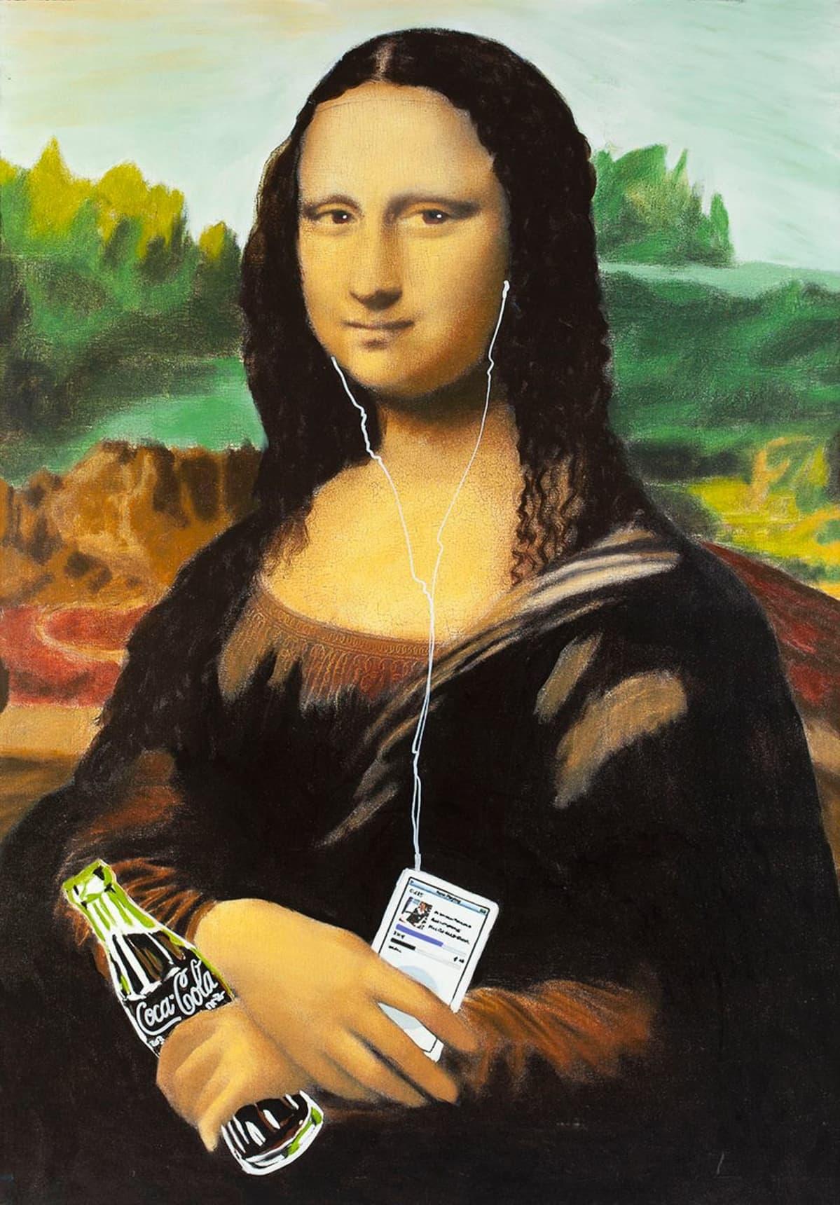 Steve Kaufman: Mona Lisa, 2008