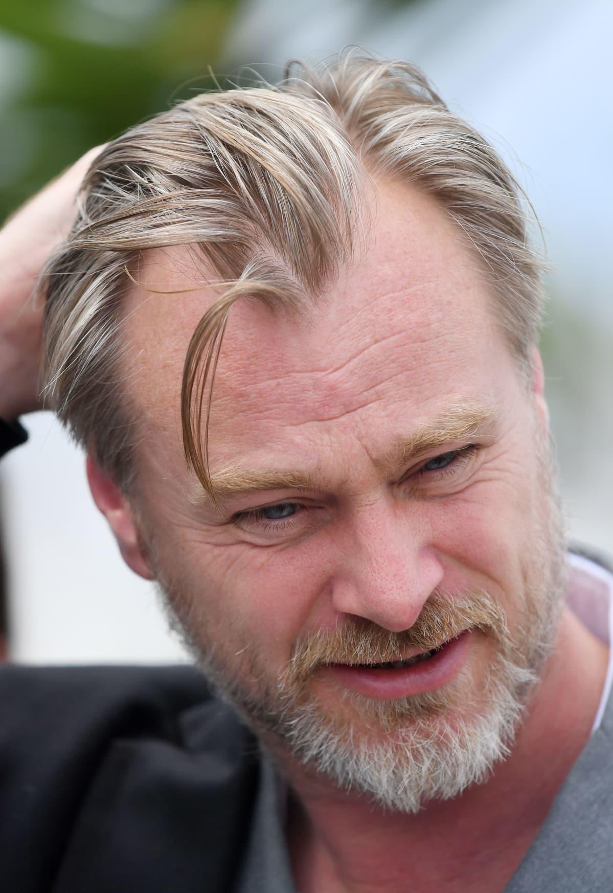 Christopher Nolan Cannesin elokuvajuhlilla 2018.