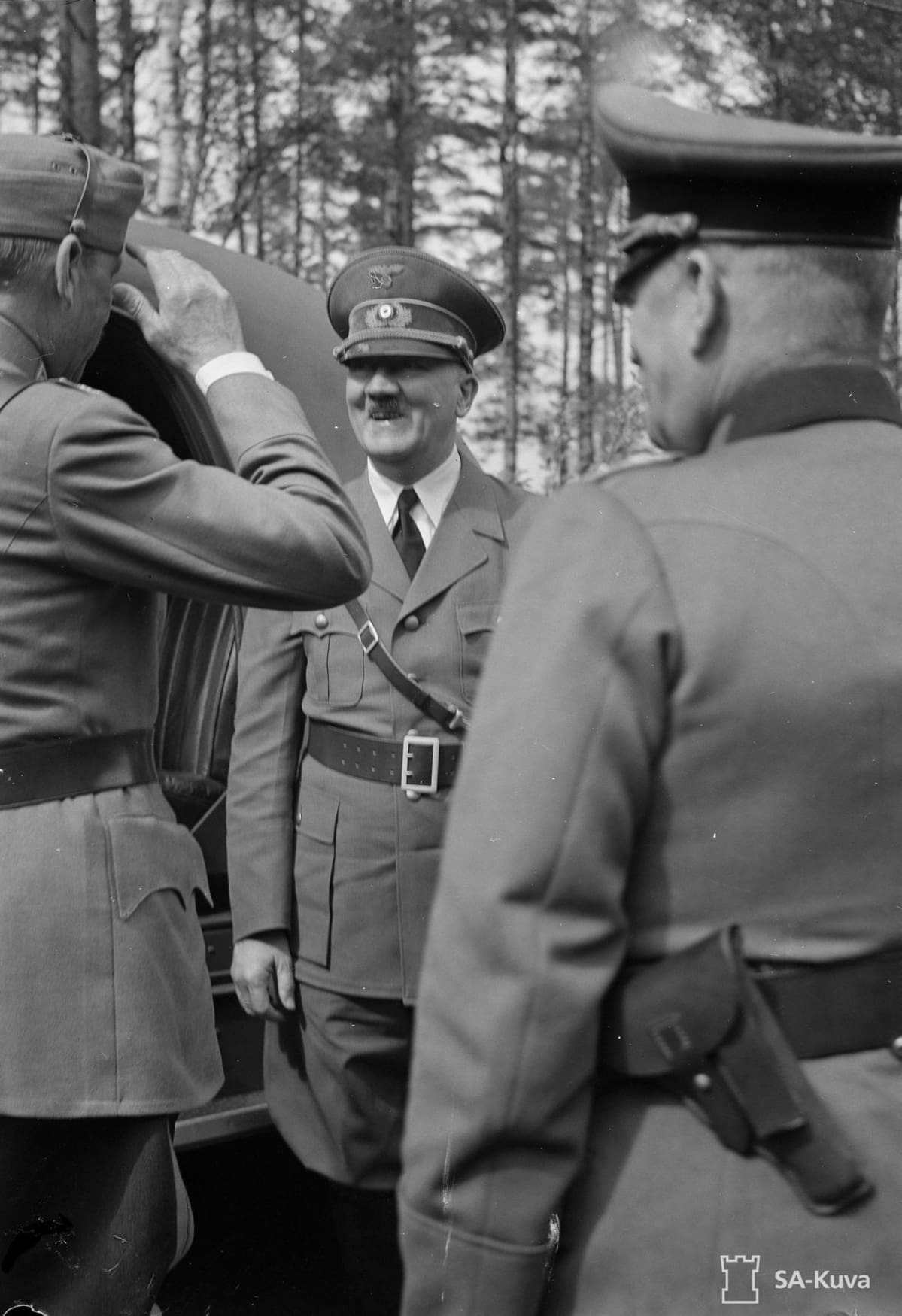 Adolf Hitler vierailulla Suomessa