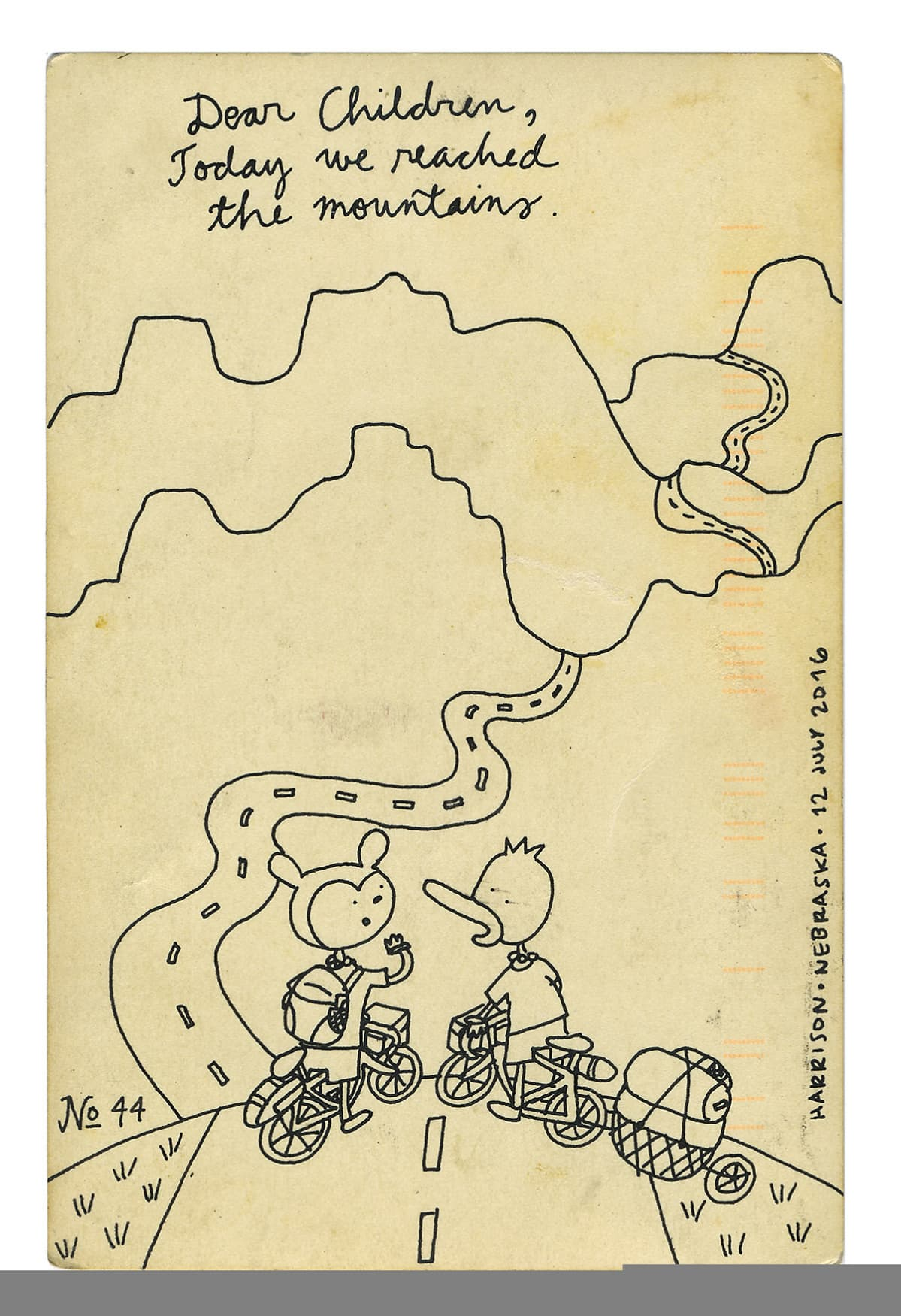 Kaisa ja Christoffer Lekan sarjakuva