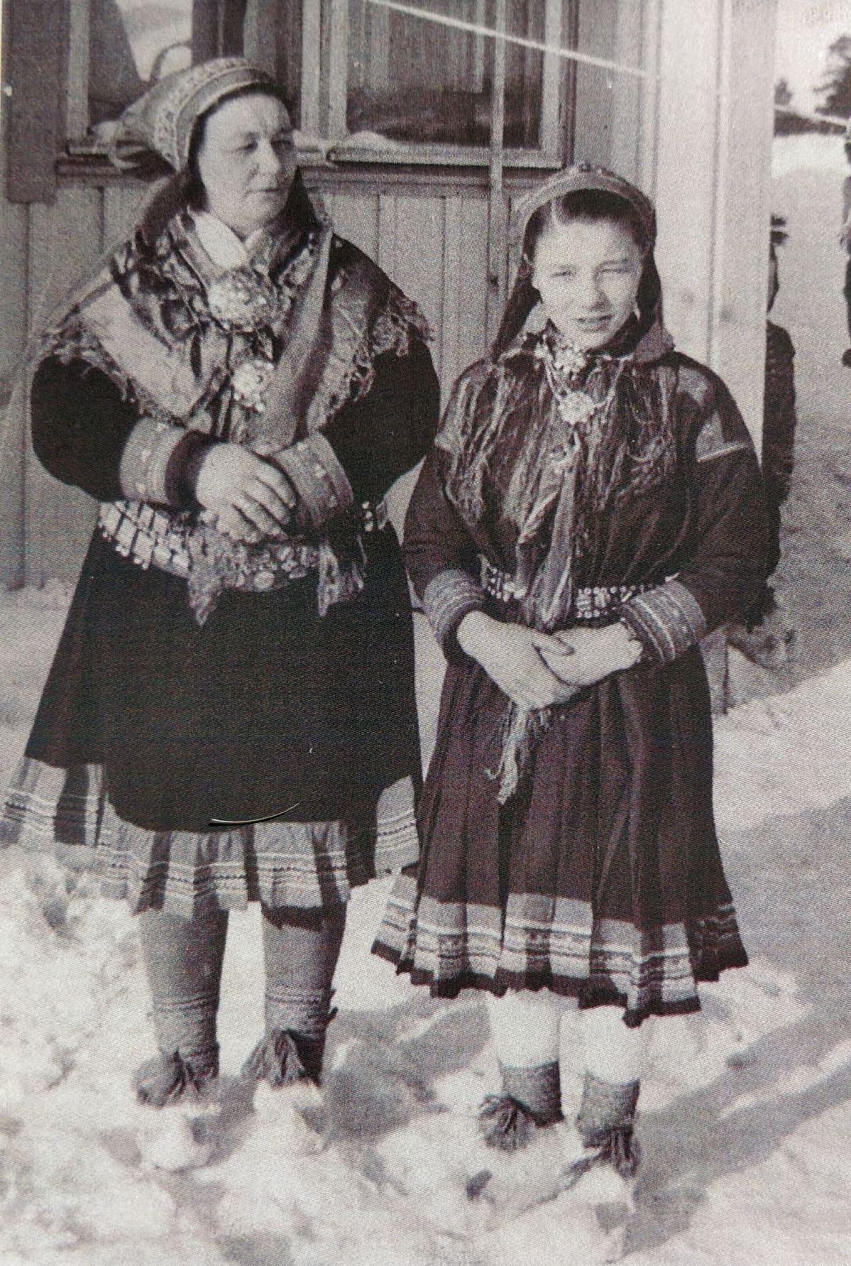 Anni Näkkäläjärvi 1955 Eanodat Heahttá Enontekiö