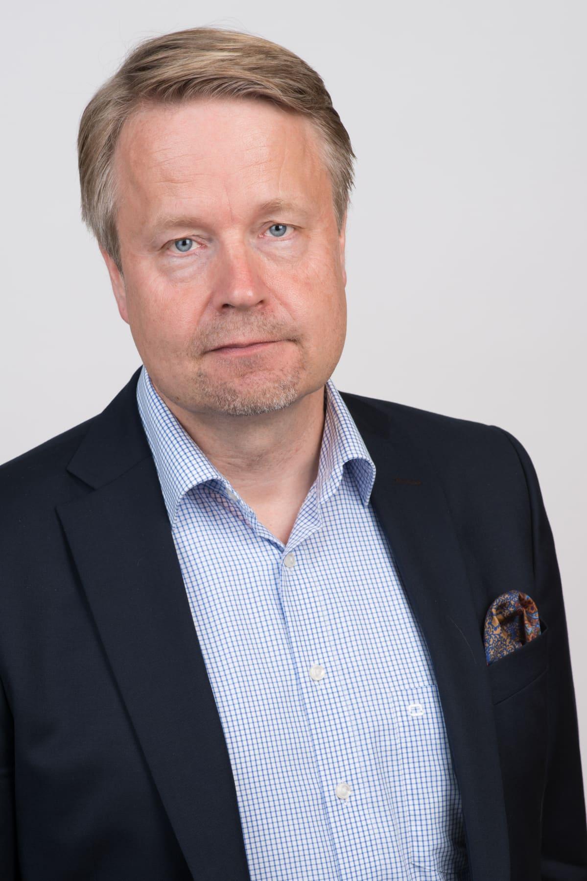Elinkeinoelämän valtuuskunnan johtaja Matti Apunen
