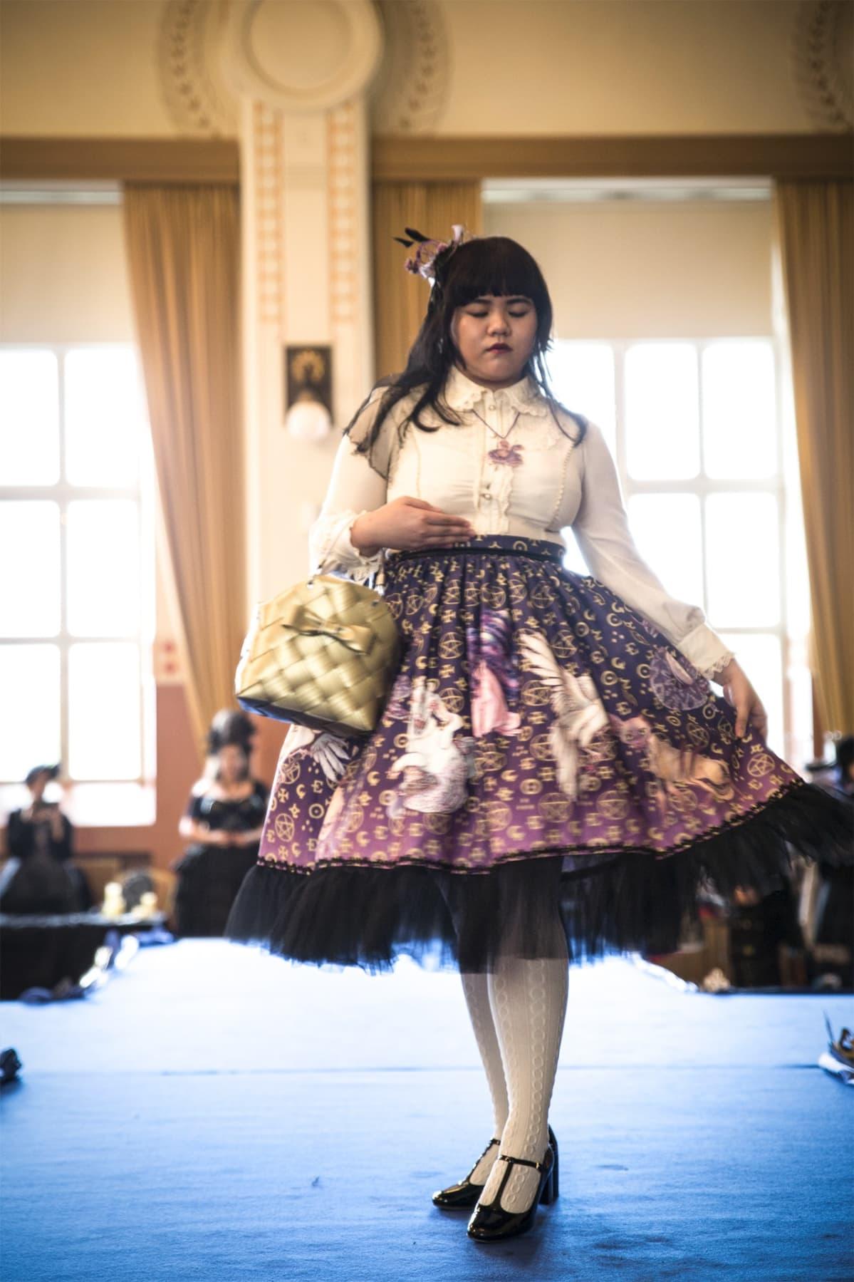 lolita, katumuoti, Japani, muotinäytös