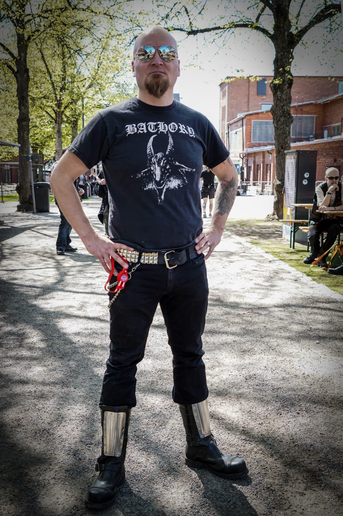 Jani Laine, pääpromoottori, Steelfest, black metal