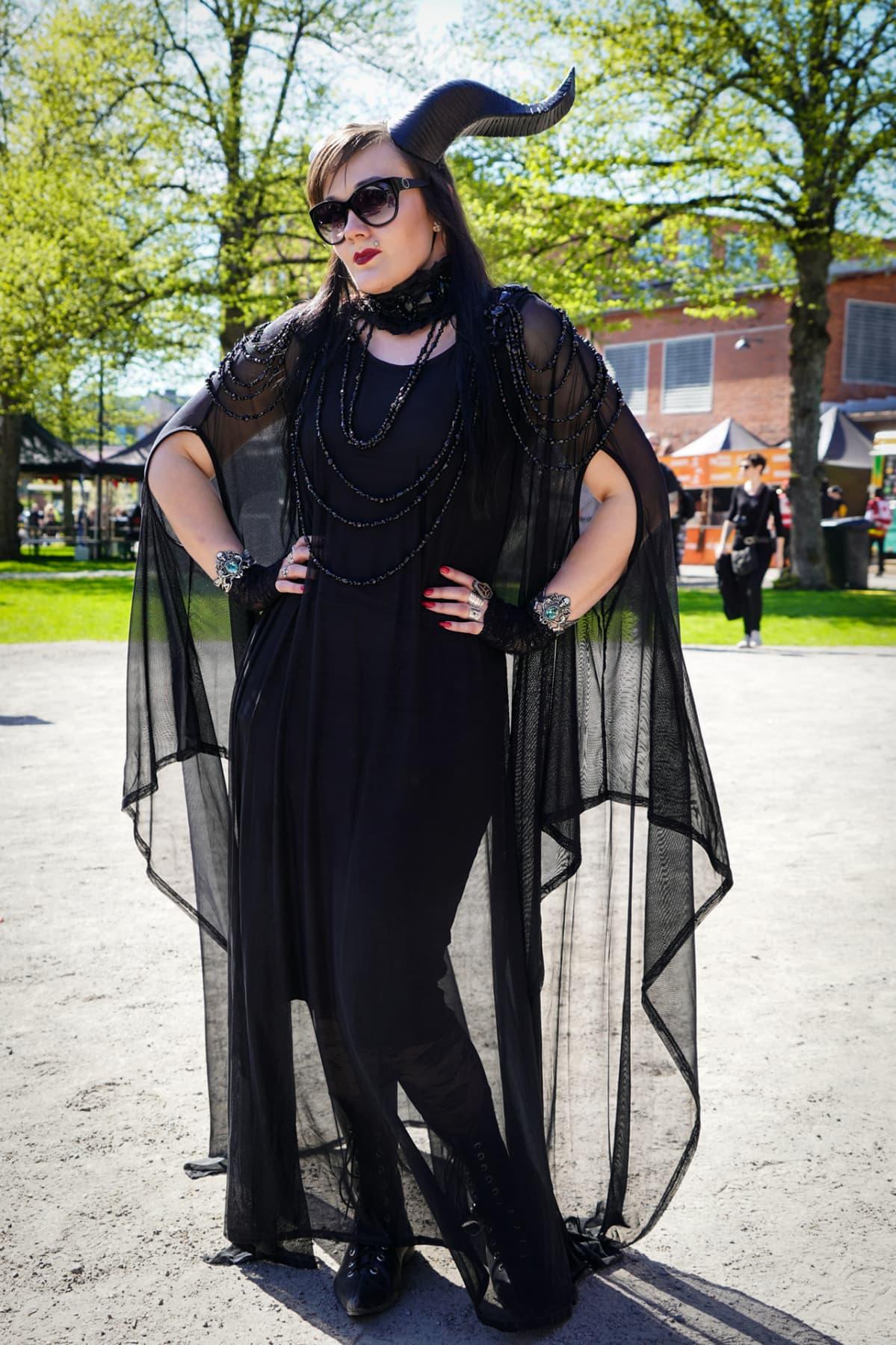 Marjo Laine, Steelfest, black metal