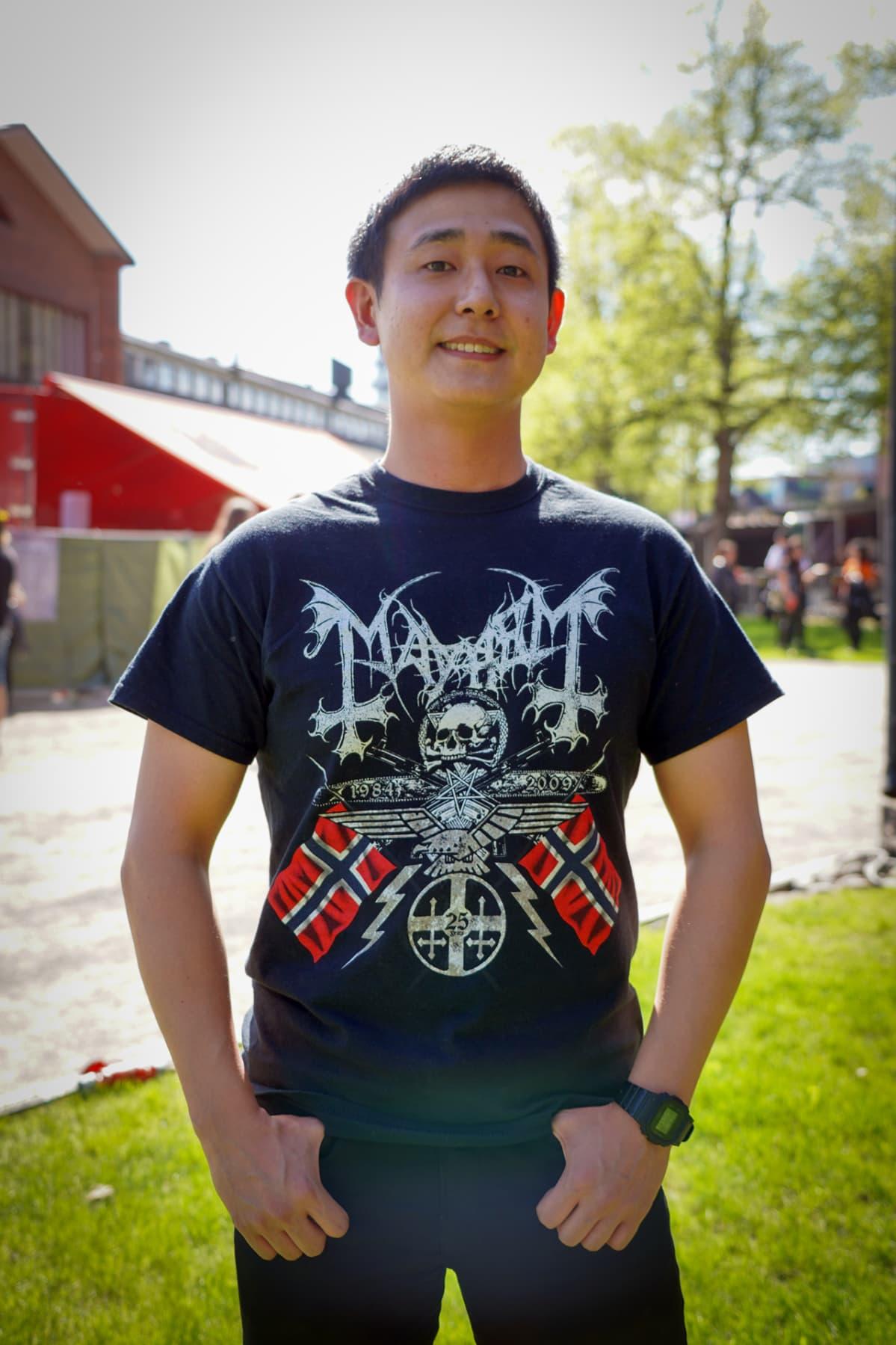 Lemmy Sukmin Yun, Steelfest, black metal