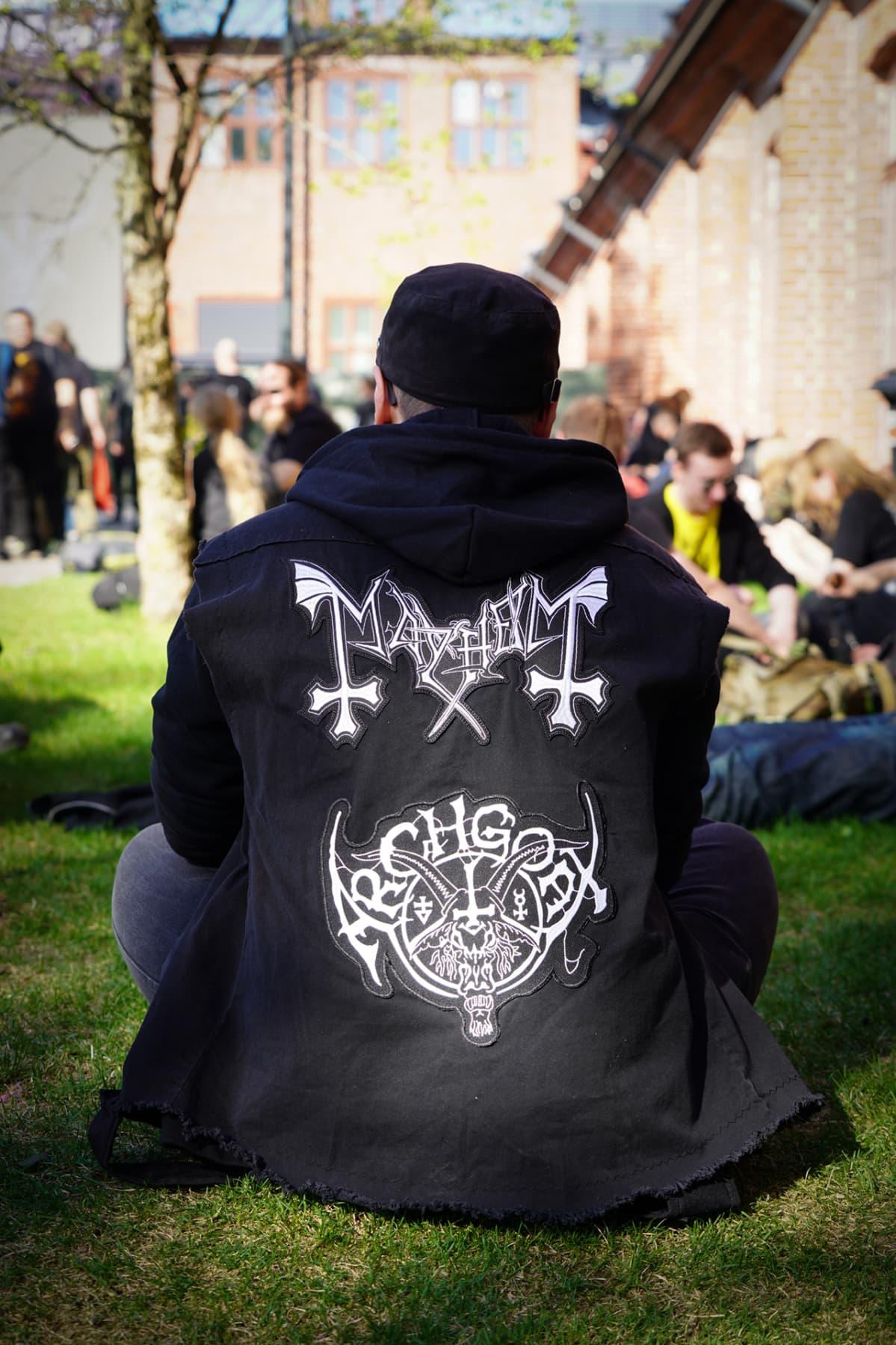 Steelfest, huppari, black metal