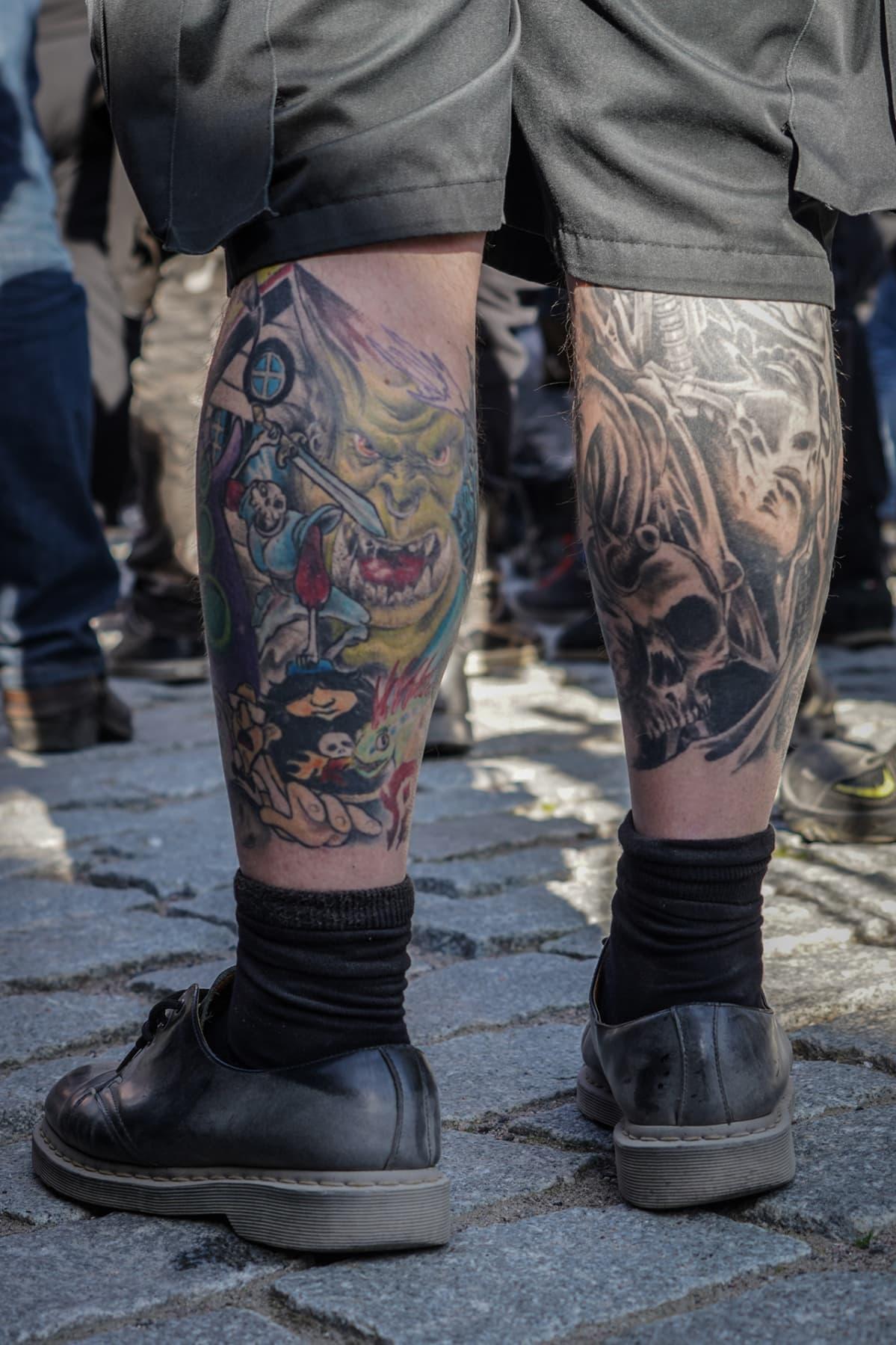 Steelfest, black metal, tatuointi
