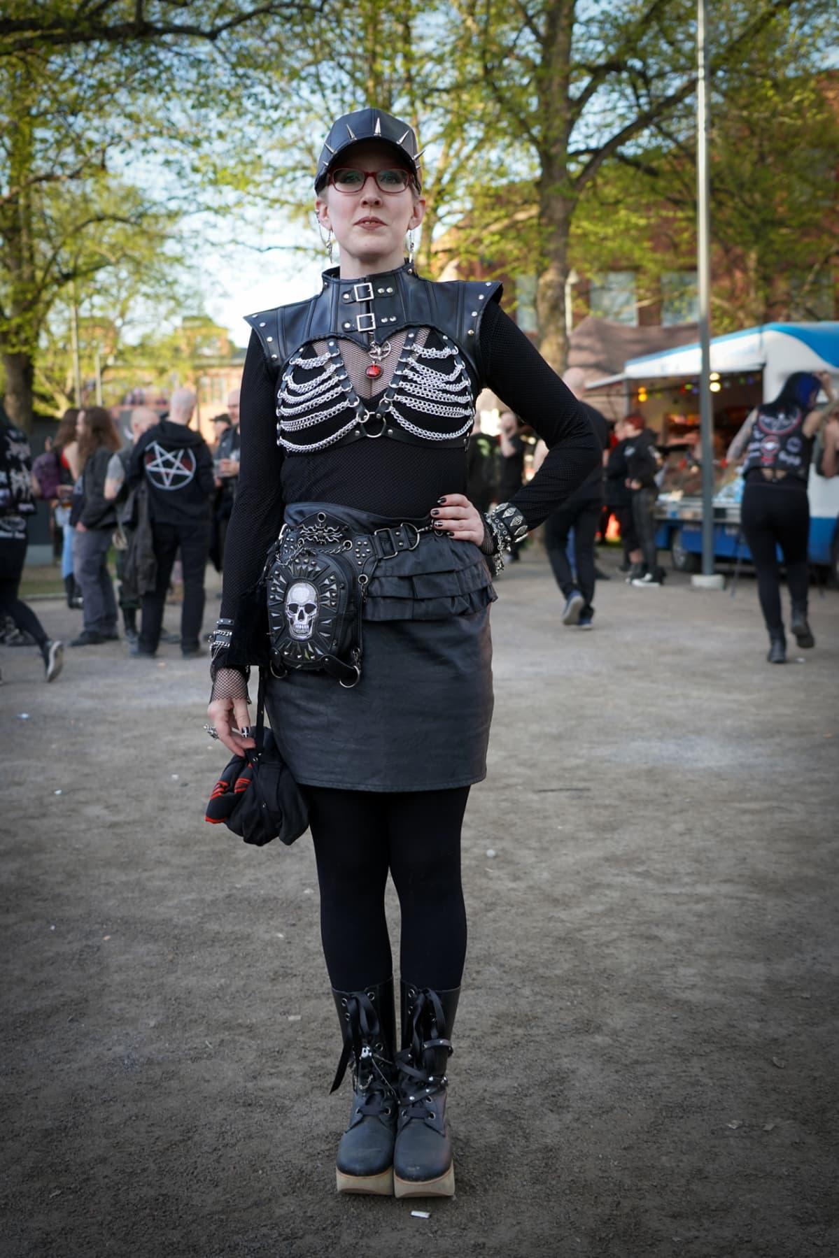 Steelfest, black metal, Attitudelolita