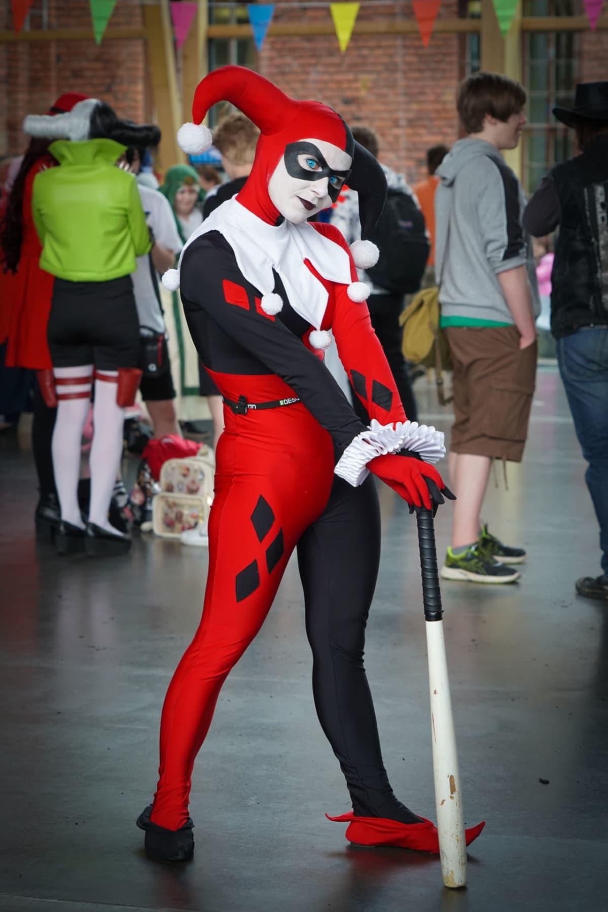 Desucon, anime, Harley Quinn, Batman