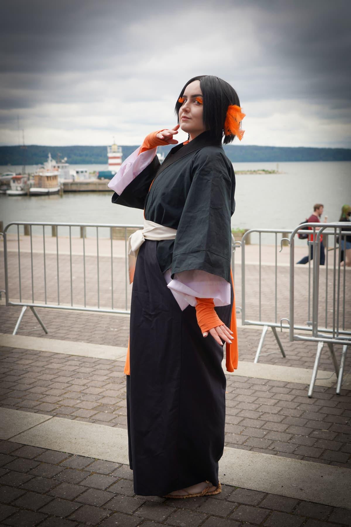 Minna Fagerdahl, Yumichika Ayasegawa, Desucon, cosplay