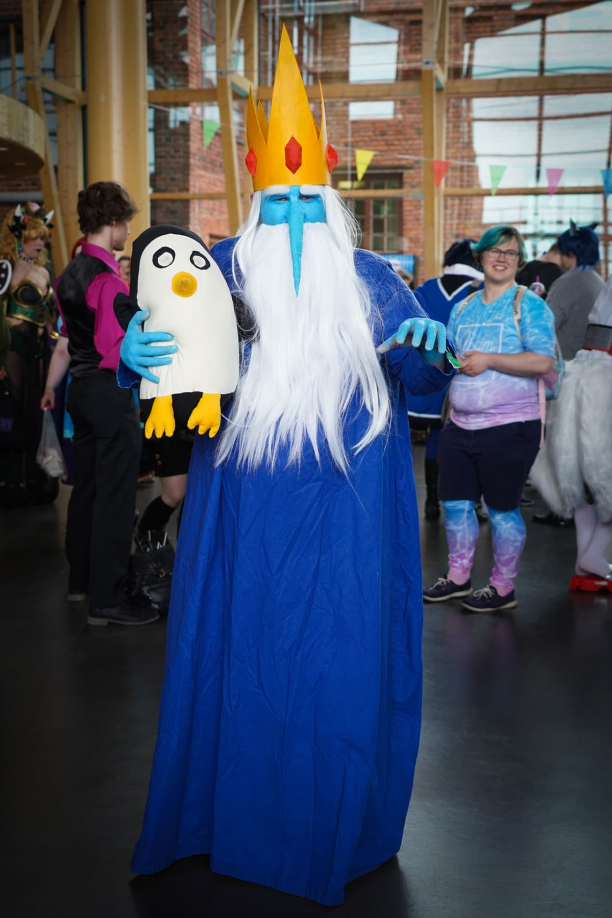 Desucon, cosplay, Jääkuningas, Adventure Time, Sampsa Rytkönen