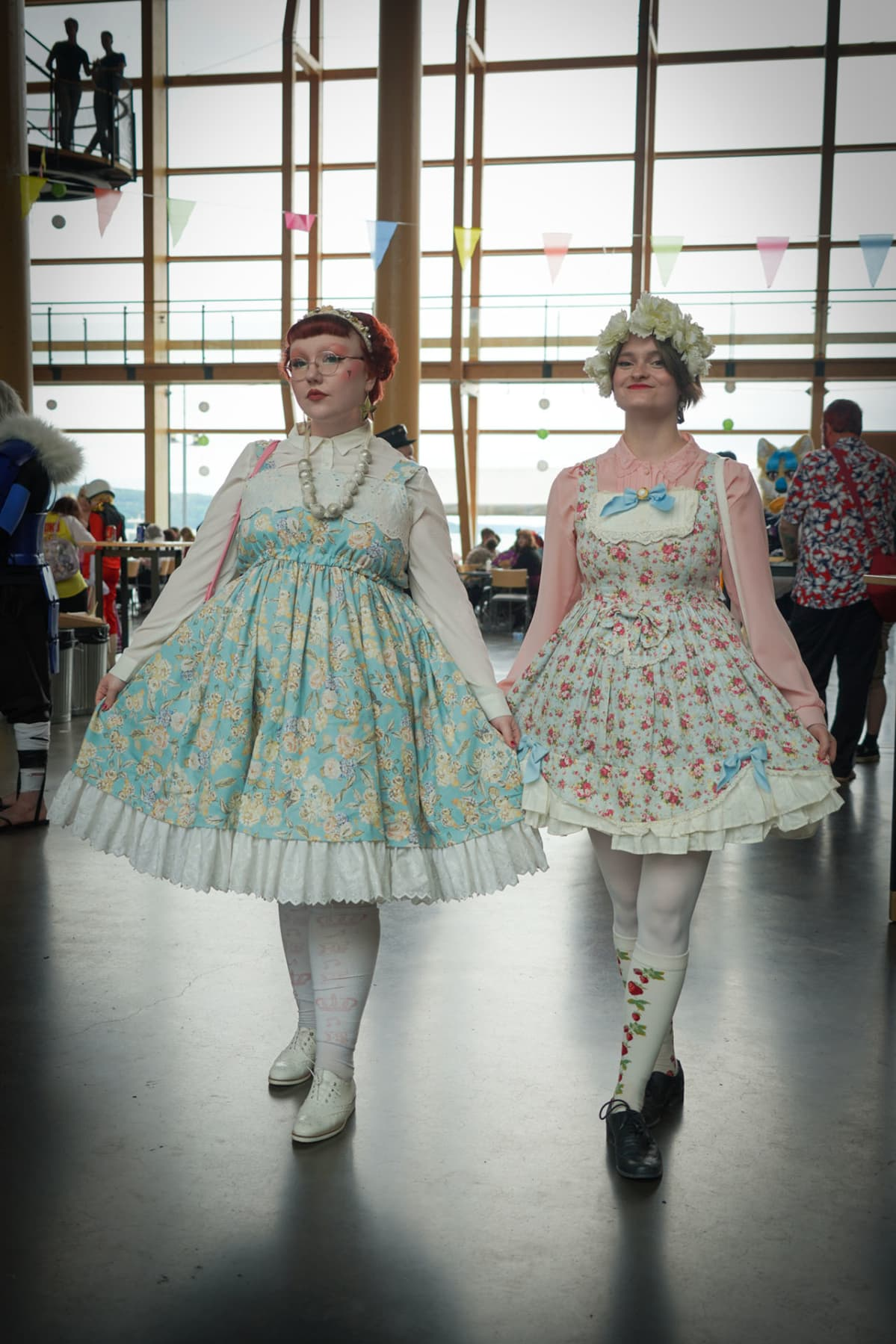 Emi Svinhufvud, Adeliina Paloniemi, sweet lolita, Desucon, cosplay