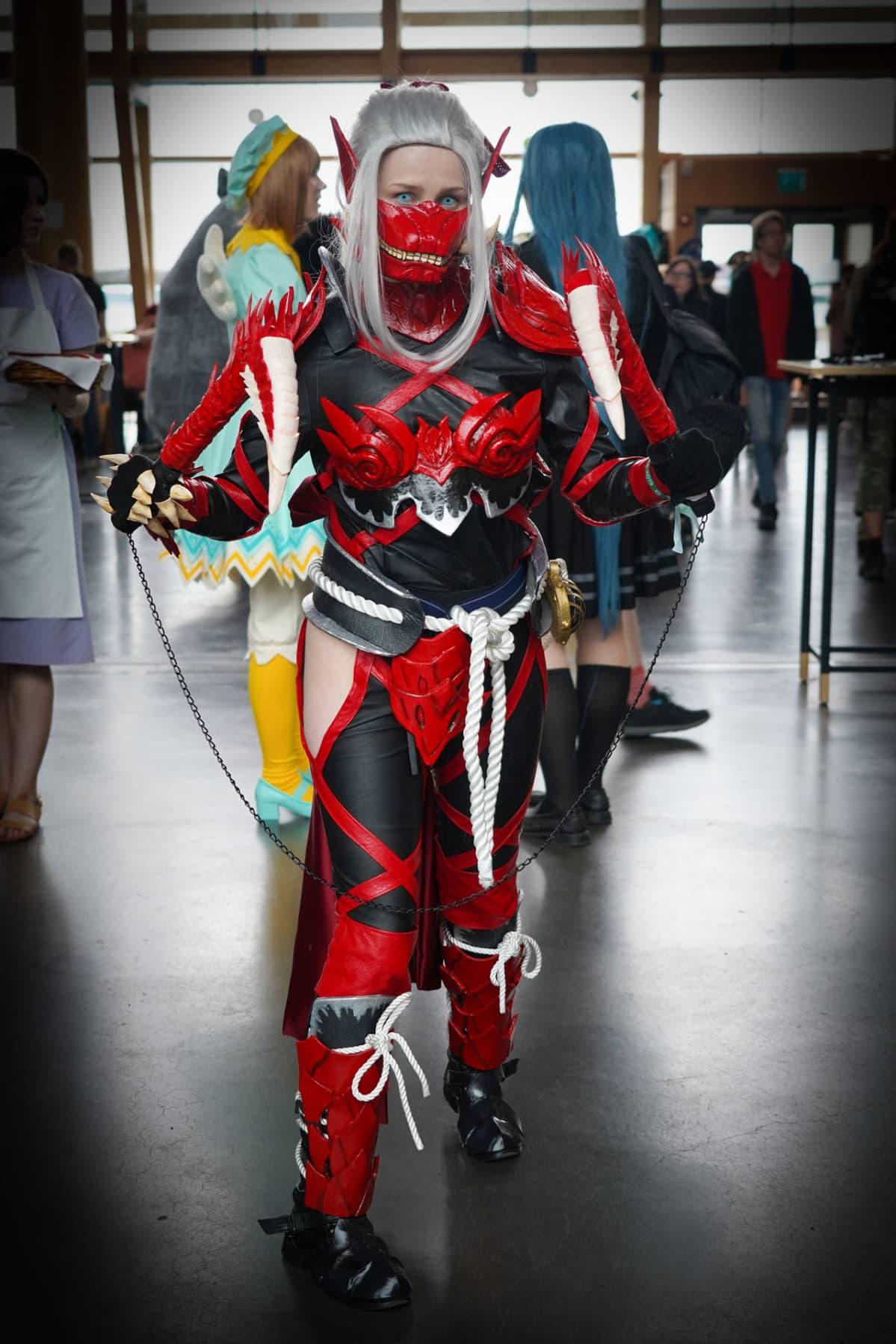 Desucon, cosplay, Odogaron, haarniska