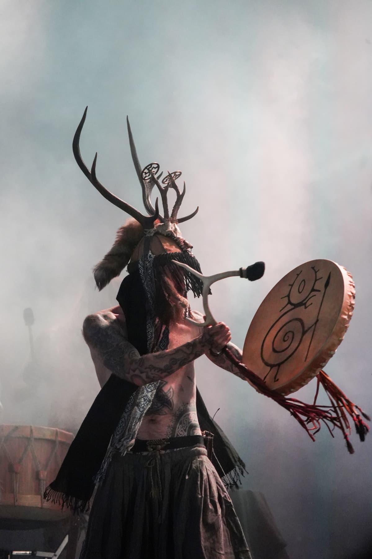 Heilung, shamanismi, Tuska
