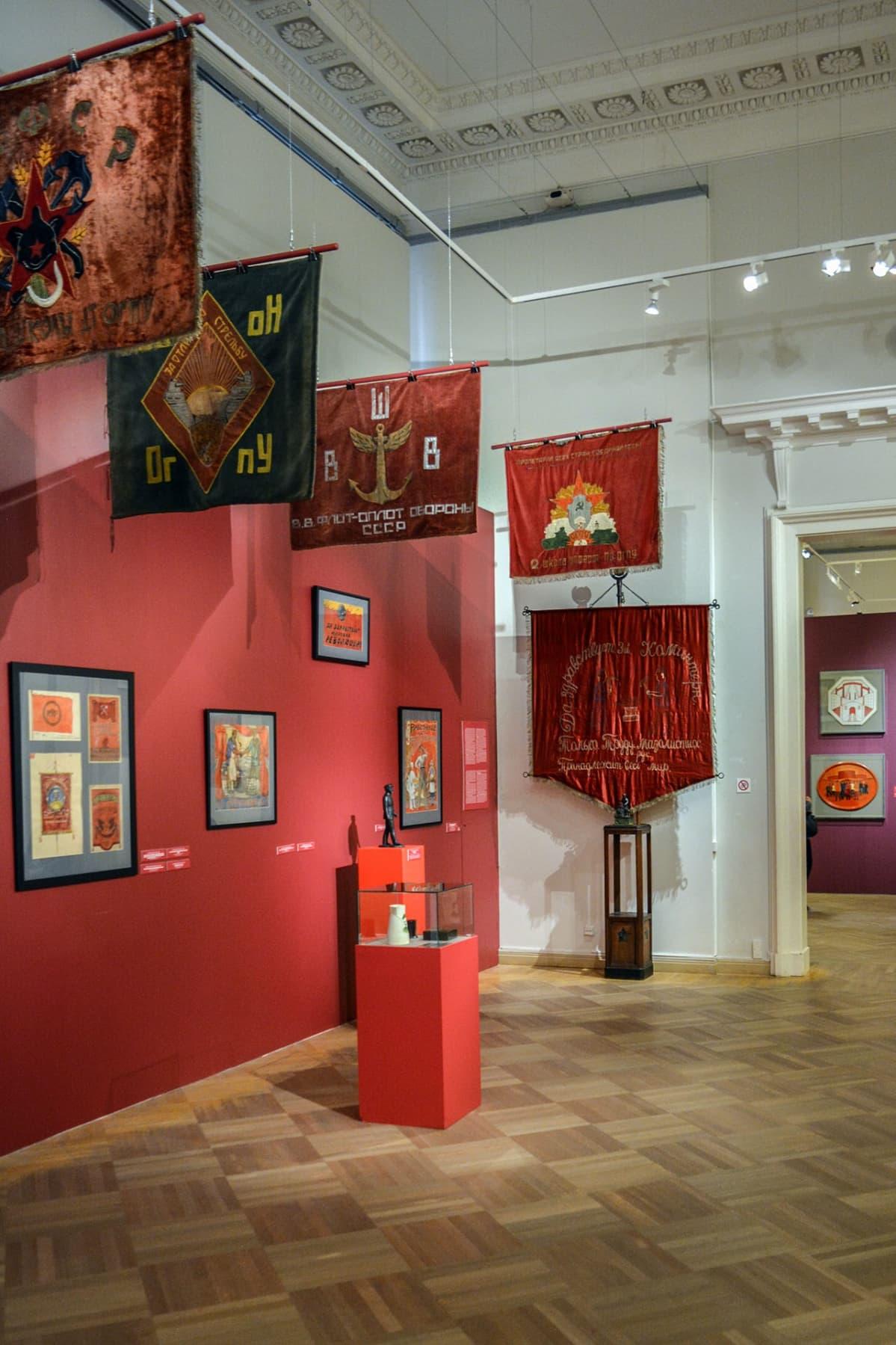 Propagandalippuja, Venäläisen taiteen museo