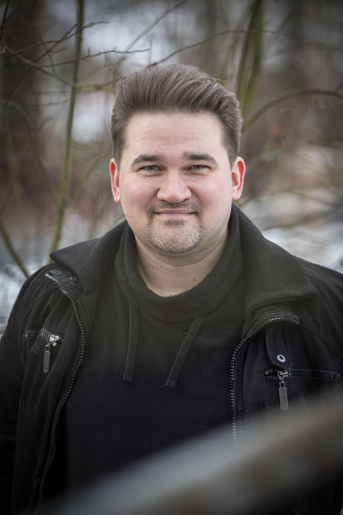 Kirjailija Jyri Paretskoi