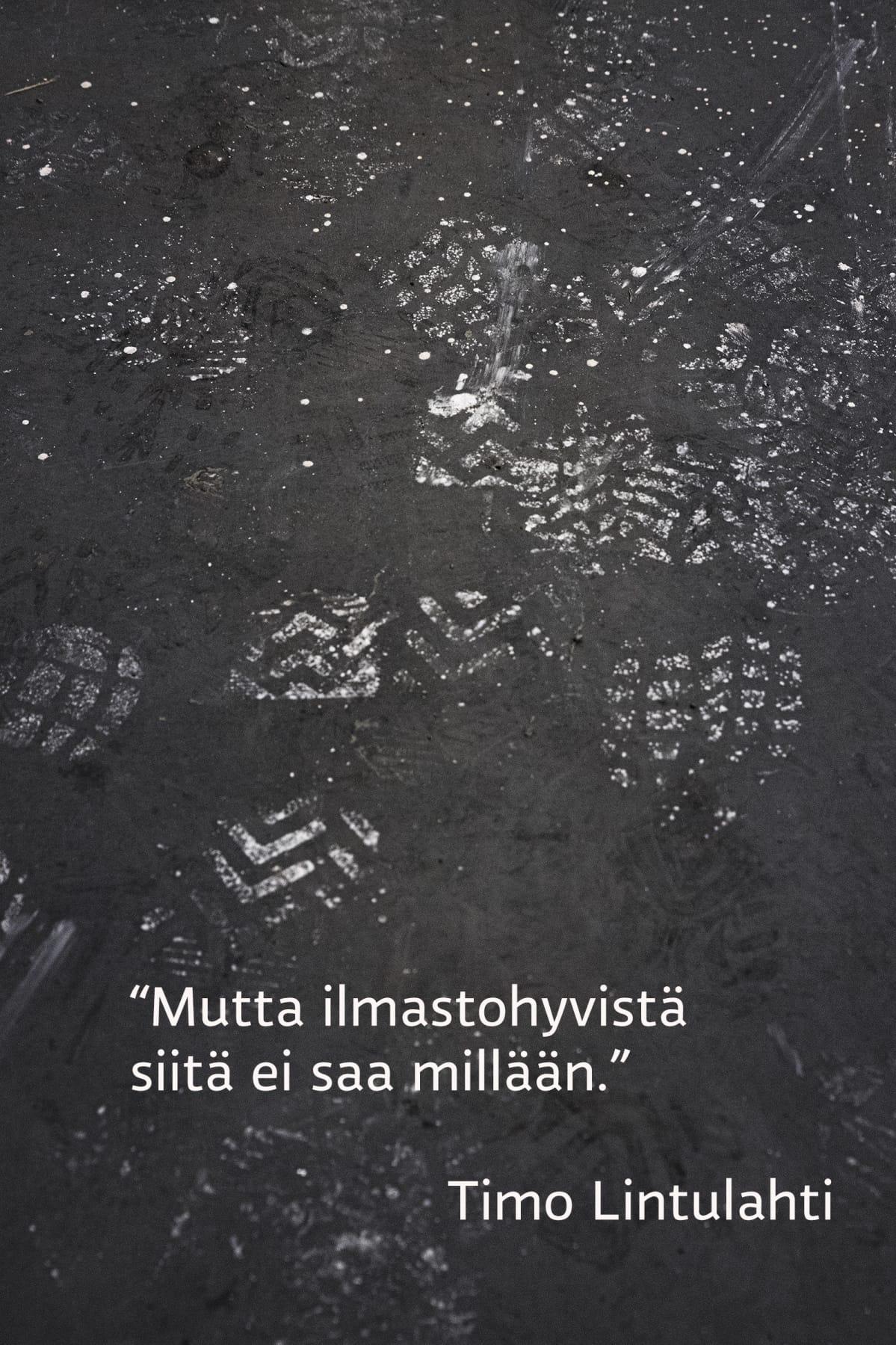 Mutta ilmastohyvistä siitä ei saa millään, sanoo Timo Lintulahti.