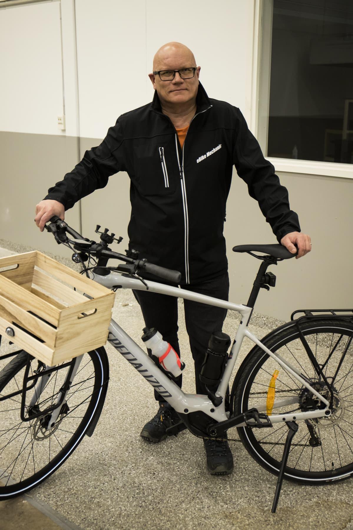 Matti Kokko, liiketoimintajohtaja, Iikan pyörävarikko.