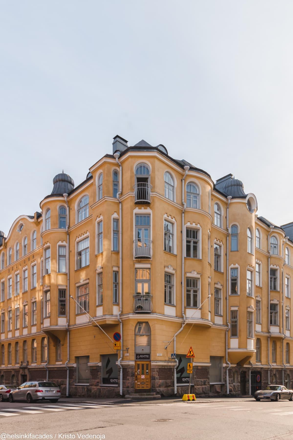 Kristo Vedenoja @helsinkifacades Bellona-rakennus Luotsikatu 8
