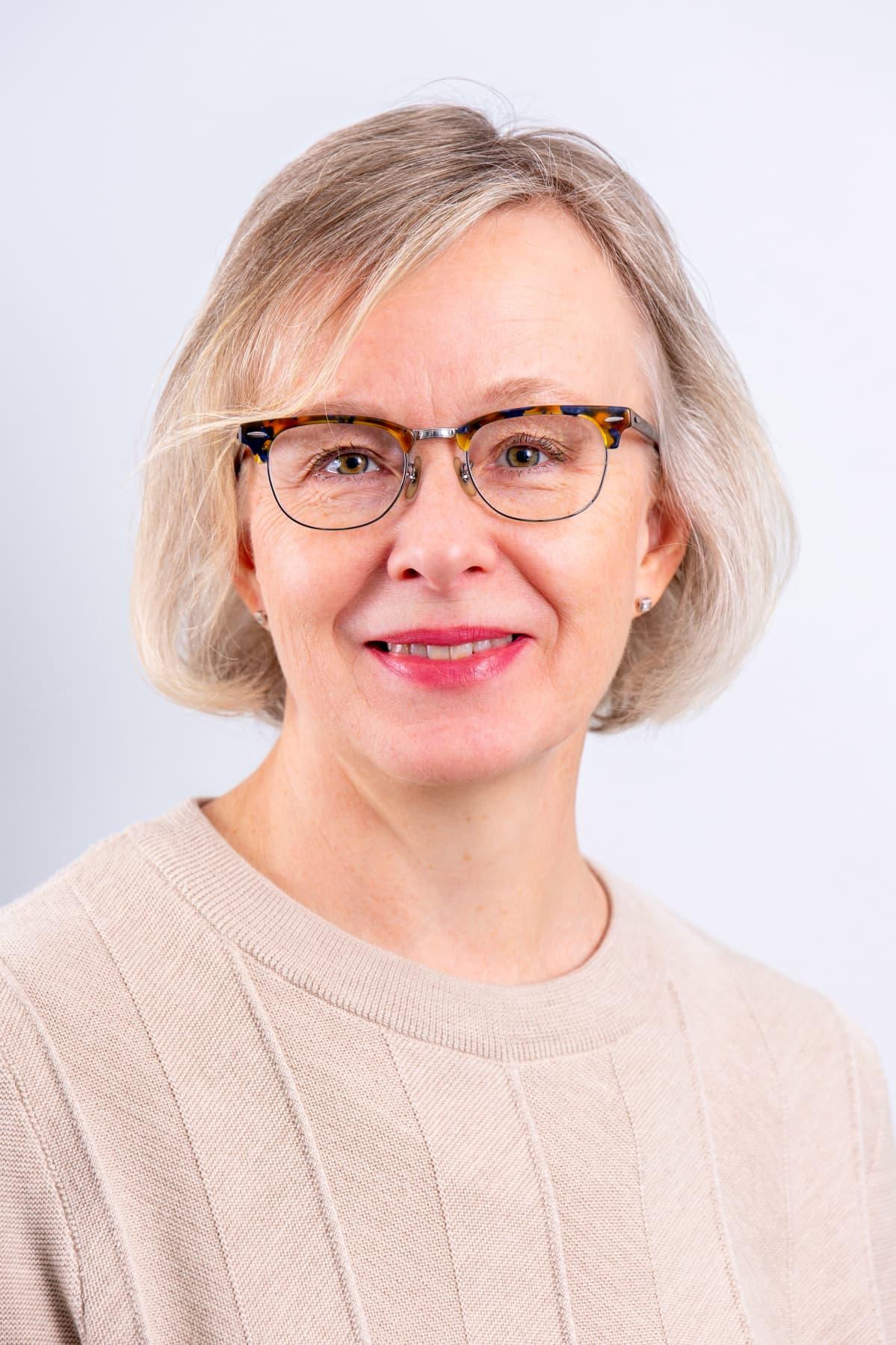 Työterveyslaitoksen johtava asiantuntija Jaana Laitinen