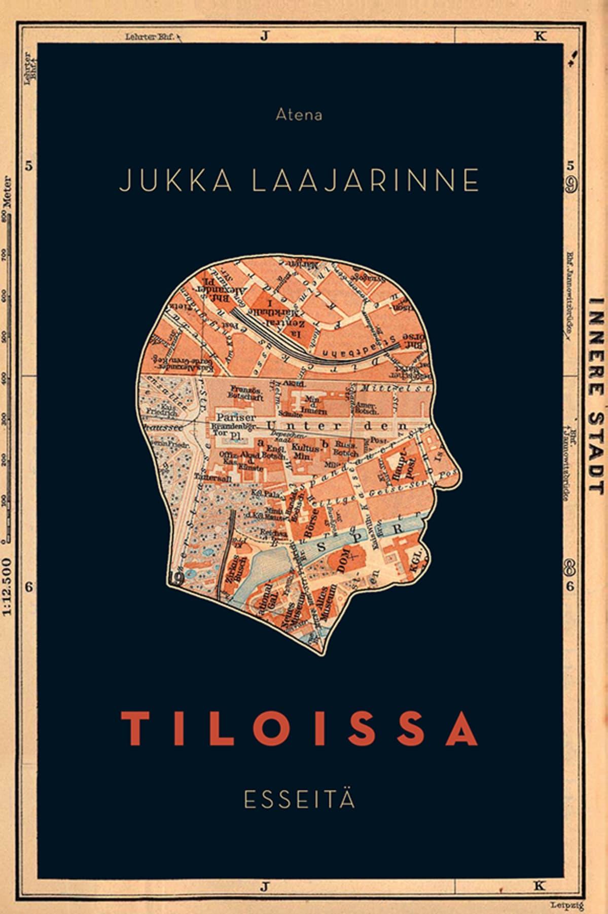 Jukka Laajarinne: Tiloissa-kirjan kansi