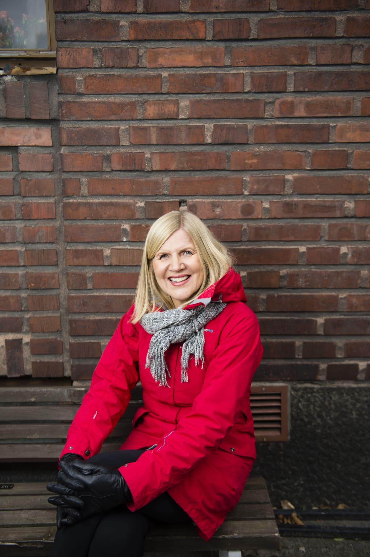 Seija Kurunmäki on Aktivistimummot-liikkeen ideoija.