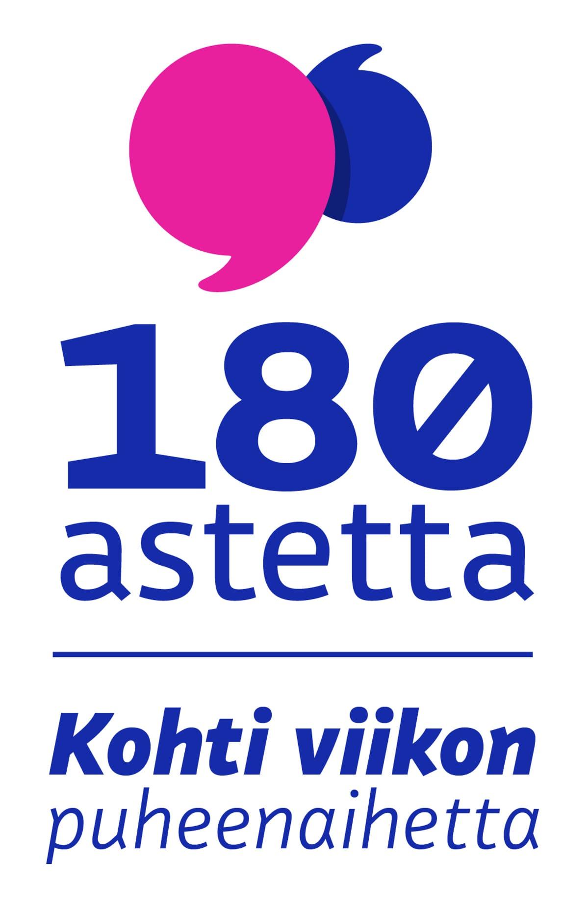 180 astetta -logo.